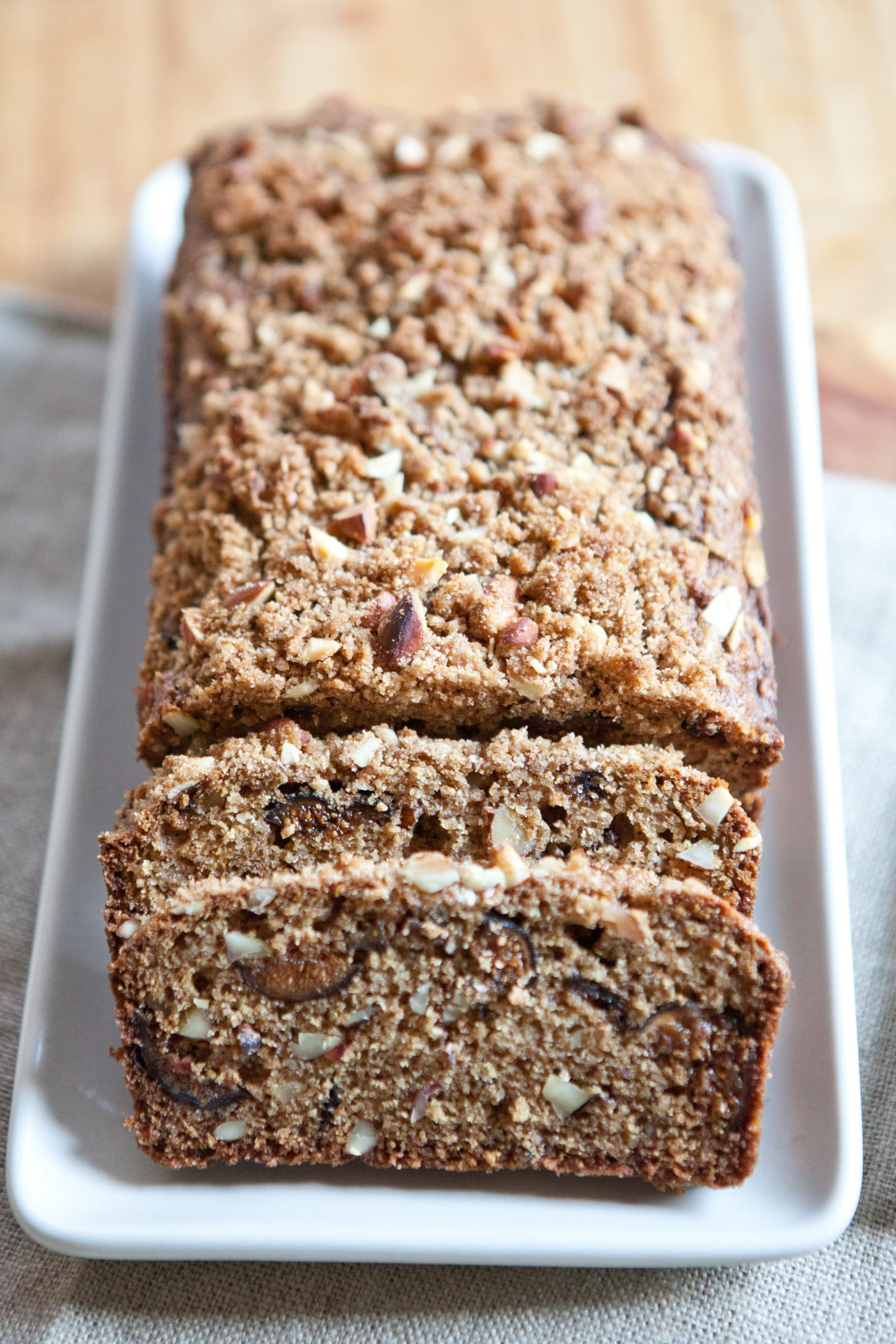 Recipe: Almond-Fig Breakfast Quick Bread | Kitchn
