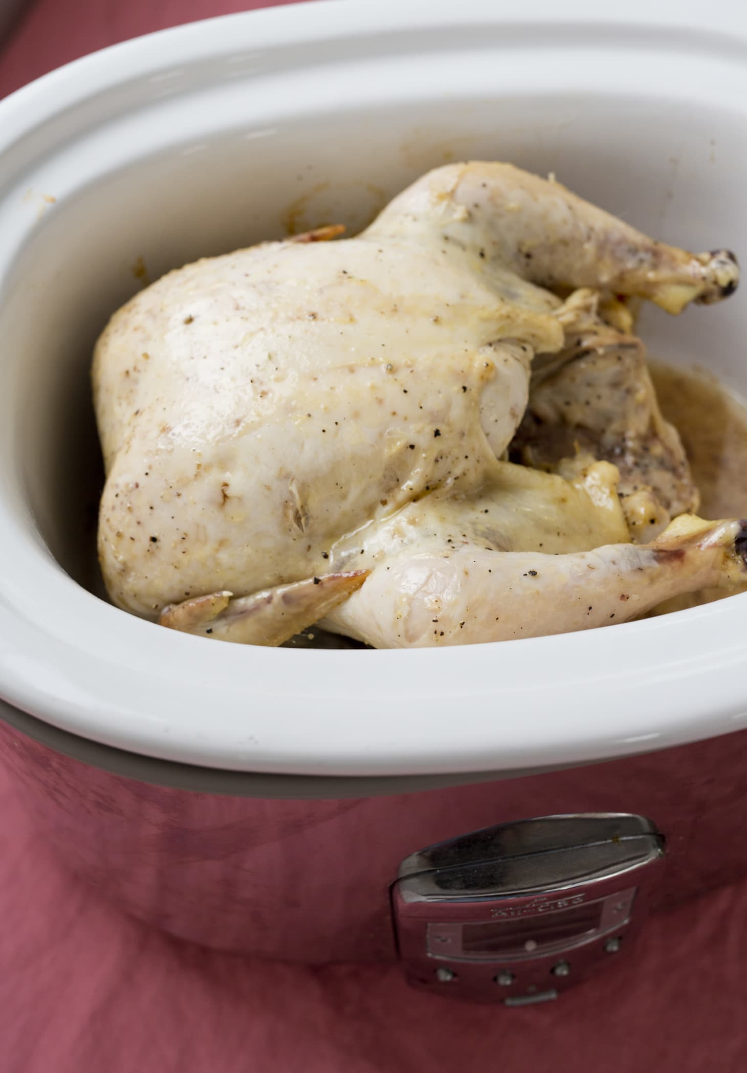 How To Cook A Whole Chicken In The Slow Cooker  Kitchn-3777