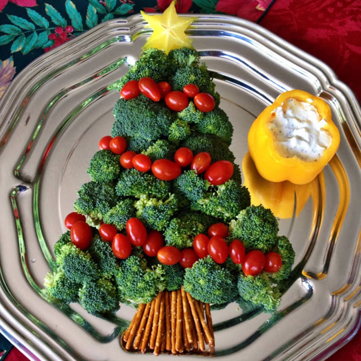 Veggie Christmas Tree Recipe: 10 Christmas Trees Made Entirely Of Delicious Food