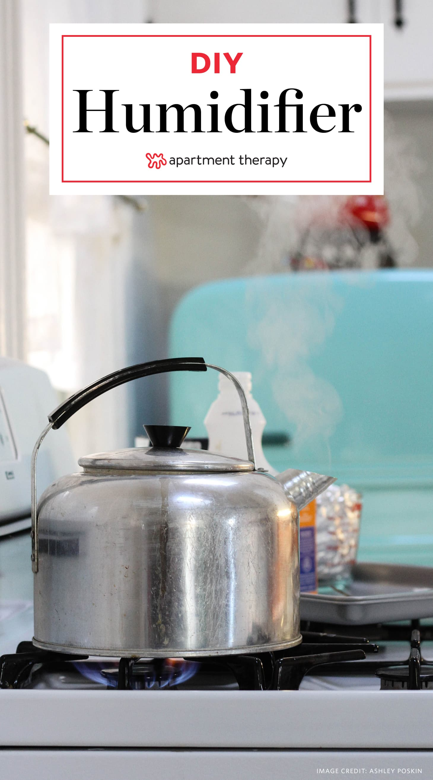 DIY Humidifer - How To Add Humidity To Dry Air | Apartment ...