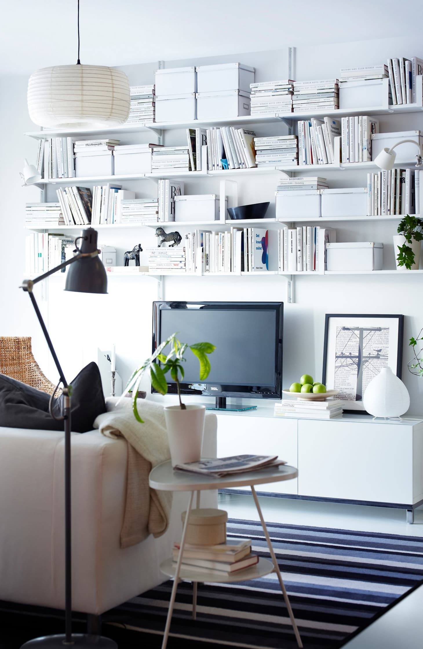 Decorating Small Open Floor Plan Living Room And Kitchen: The Best IKEA Products For Small Spaces