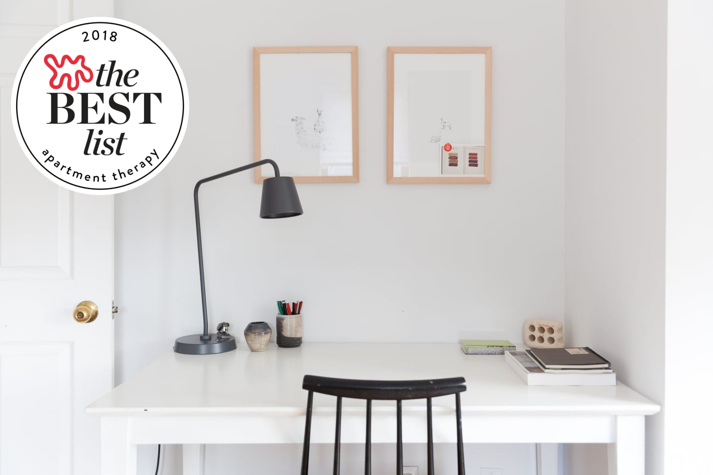 The Best Desks for Small Spaces - Small Space Desks | Apartment Therapy