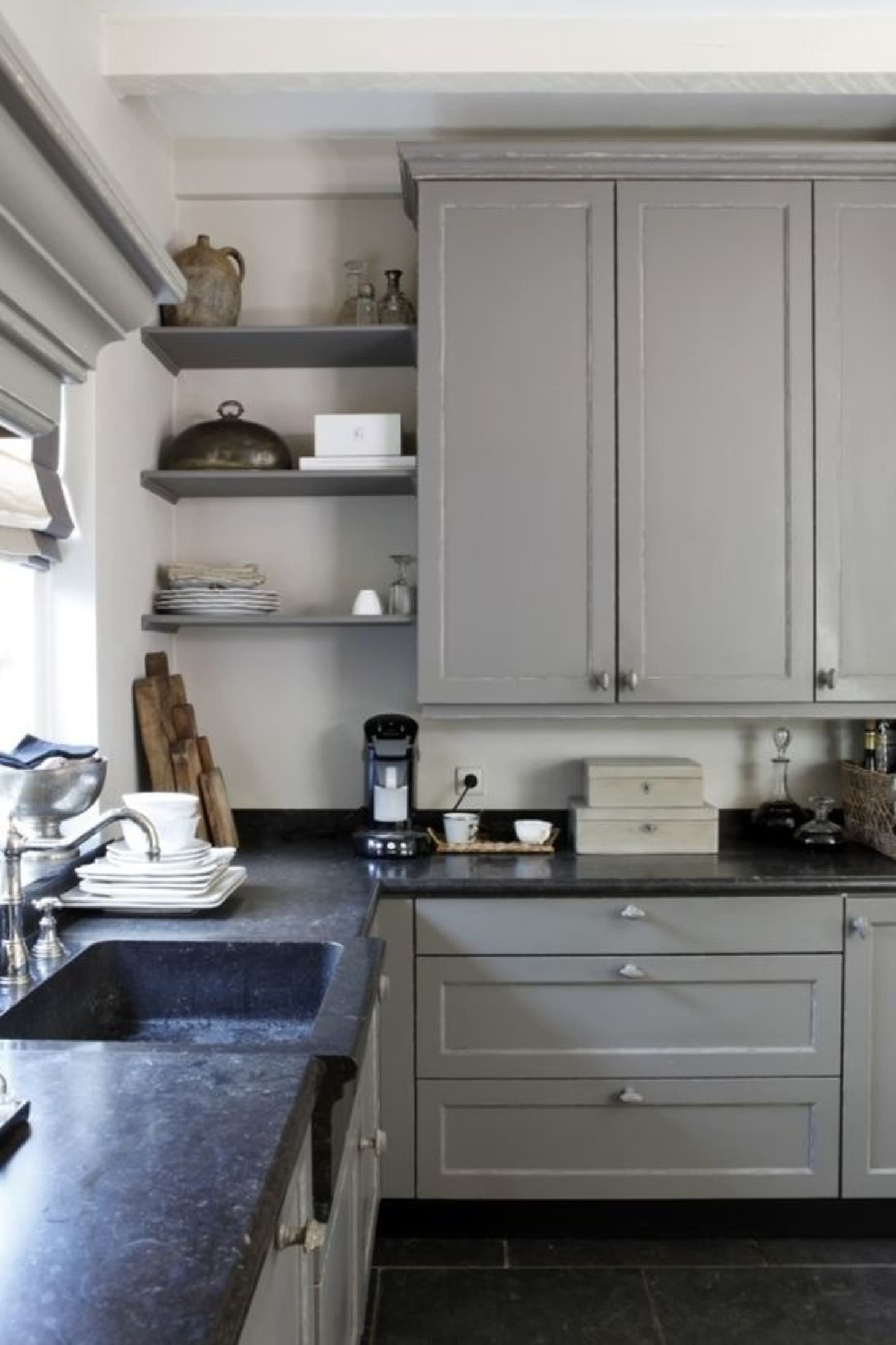 Soapstone, Especially When Paired With More Traditional Elements, Can Have  A Wonderful, Old World Feel. Kitchen From Woon Stijl.