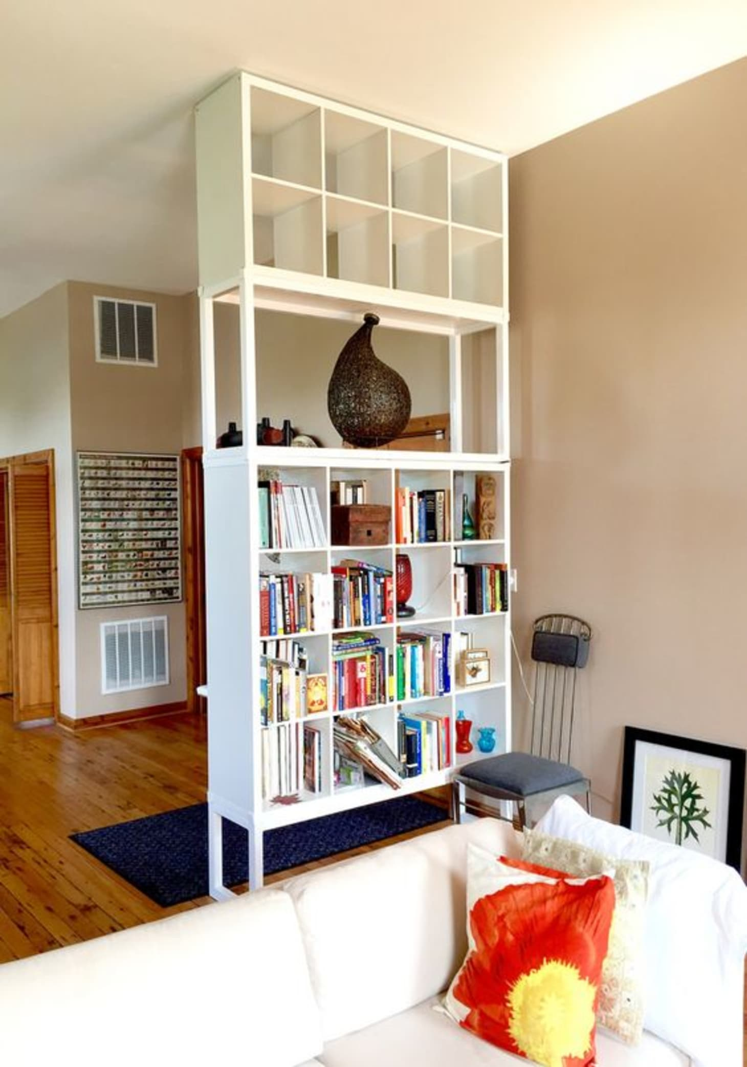 15 Super Smart Ways To Use The Ikea Kallax Bookcase Apartment Therapy