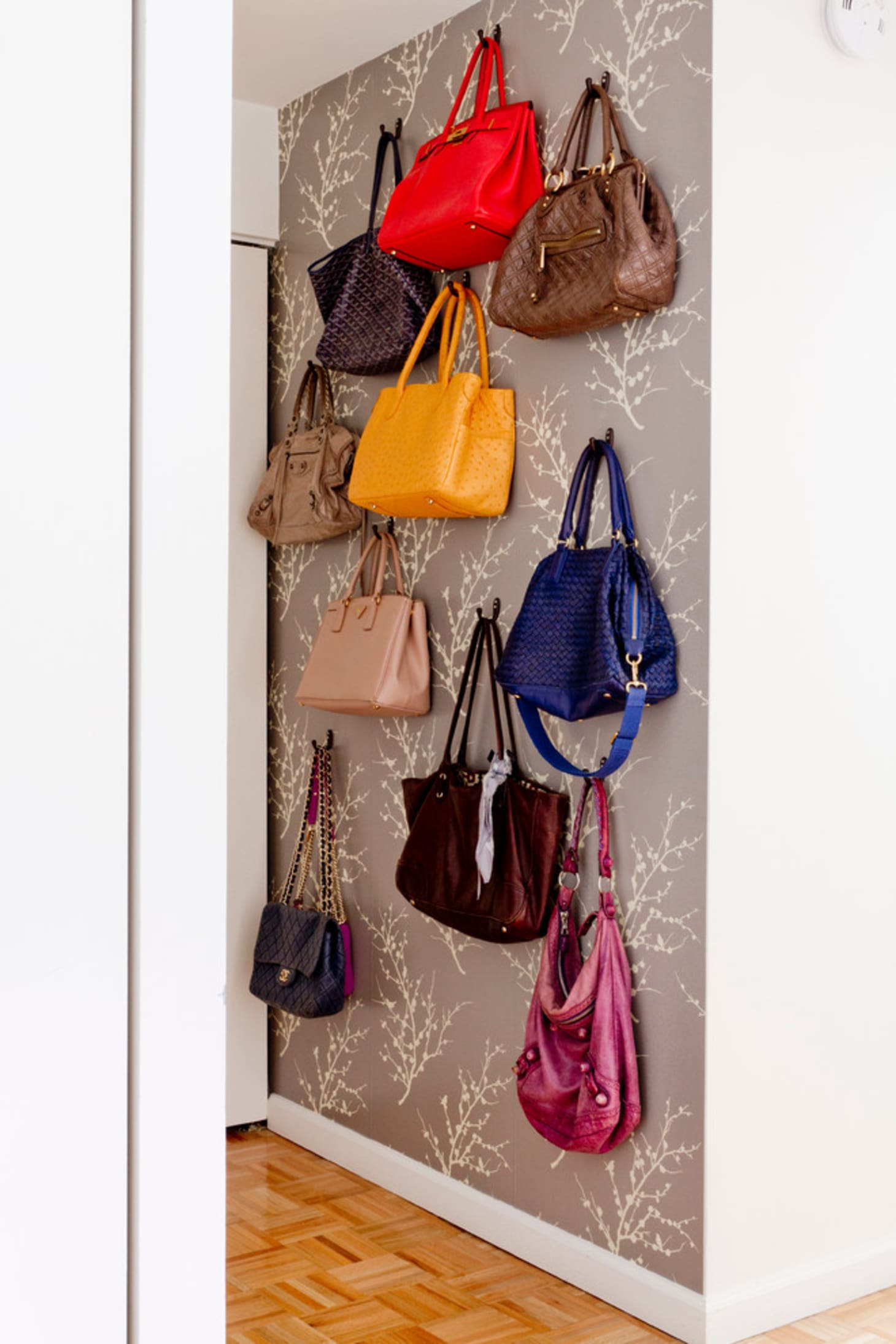 59427d5950 Purse Storage Options to Buy or DIY | Apartment Therapy