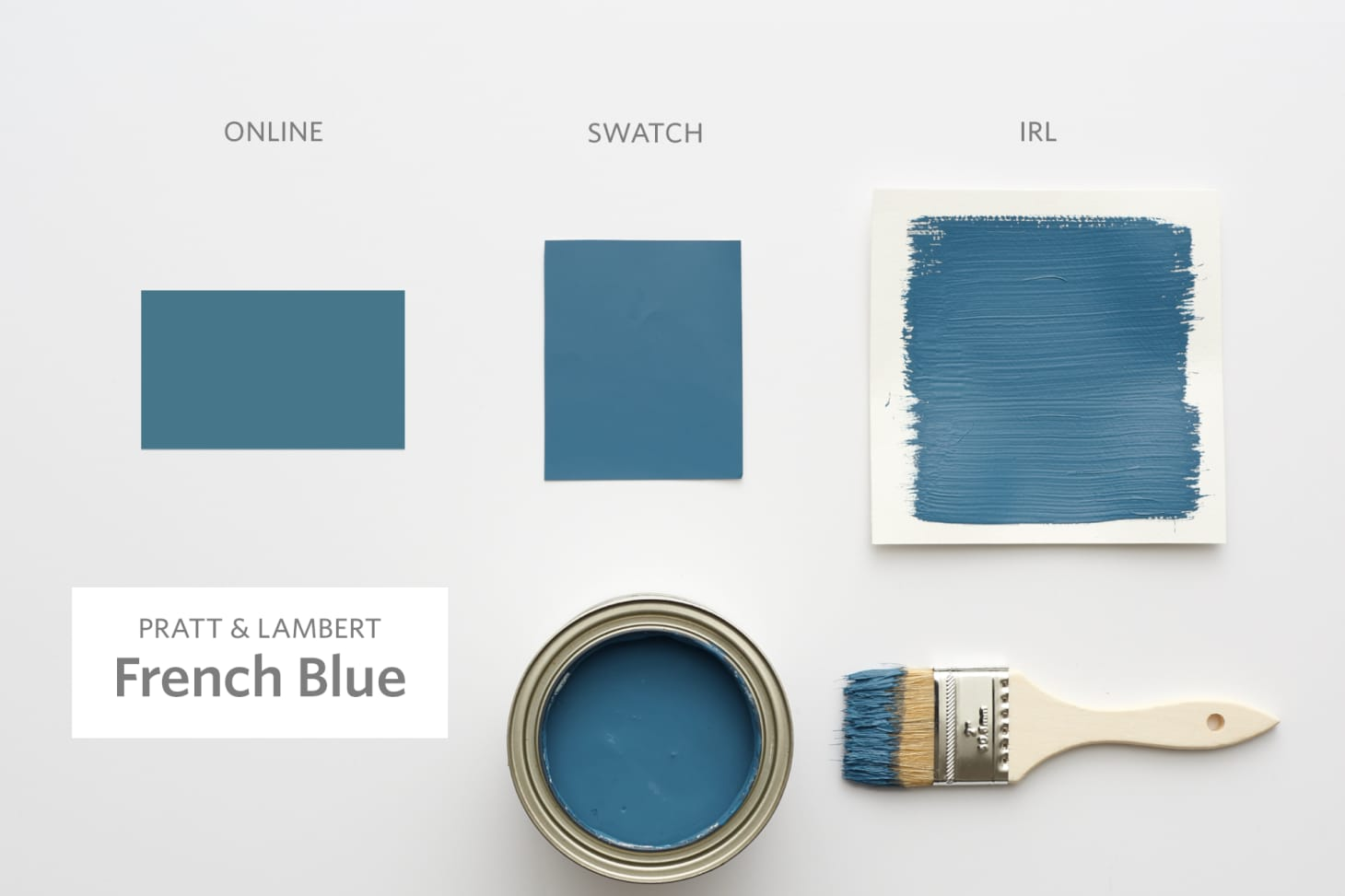 Auto Credit Post Falls >> Color Cheat Sheet: The Best Blue Paint Colors | Apartment Therapy
