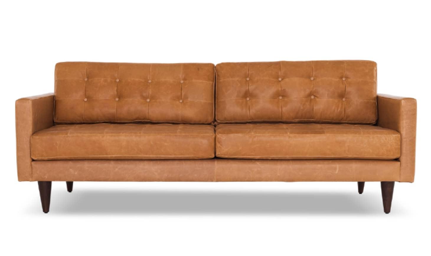 Astonishing Joybird Leather Sofa Review Beatyapartments Chair Design Images Beatyapartmentscom