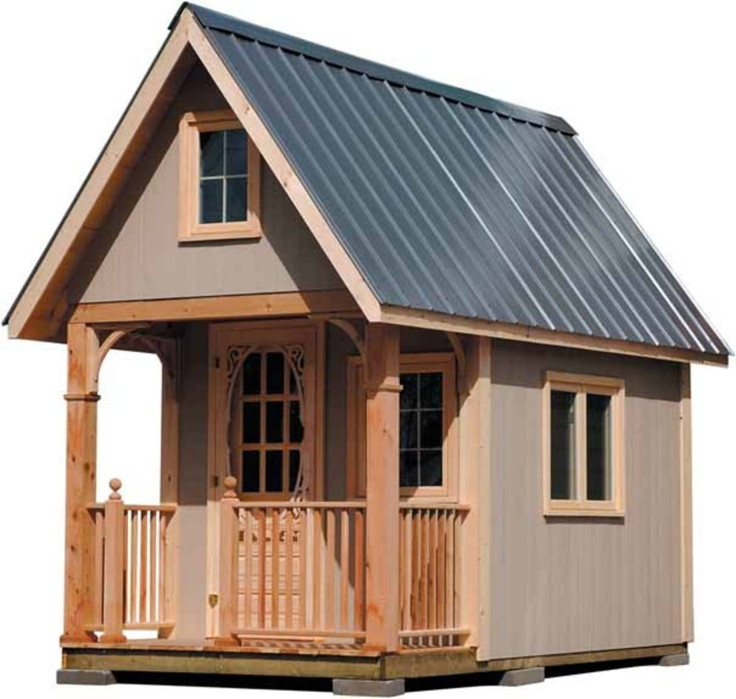 10 Free (or Very Cheap) Tiny House Plans | Apartment Therapy Playhouse X With Loft Plans on barn style sheds with loft, yard sheds with loft, 16x20 cabin plan with loft, 14x16 cabin with a loft, one room cabin with loft, 12x12 cabin with sleeping loft,