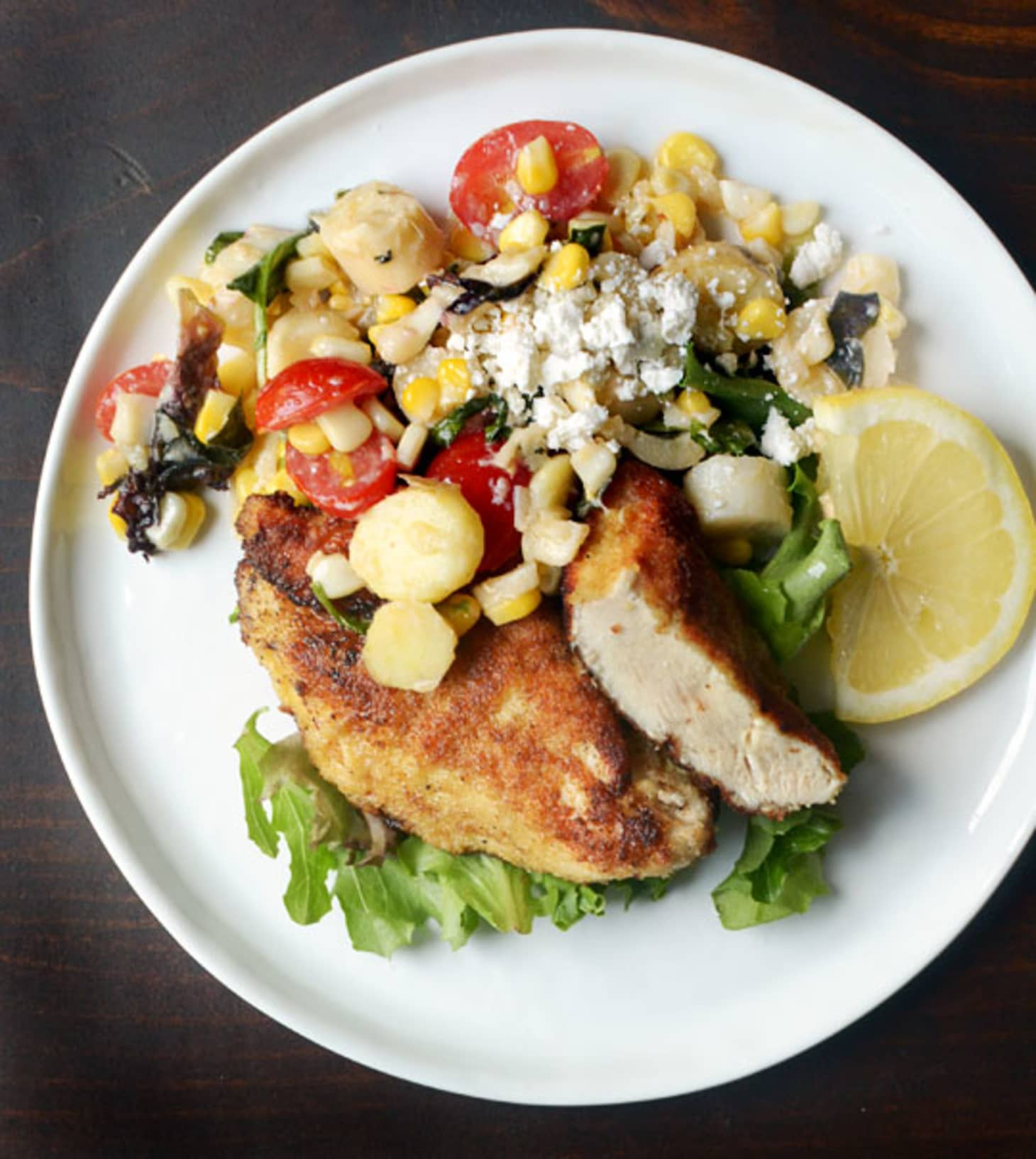 Weeknight Recipe: Pan-Fried Chicken Breasts With Corn