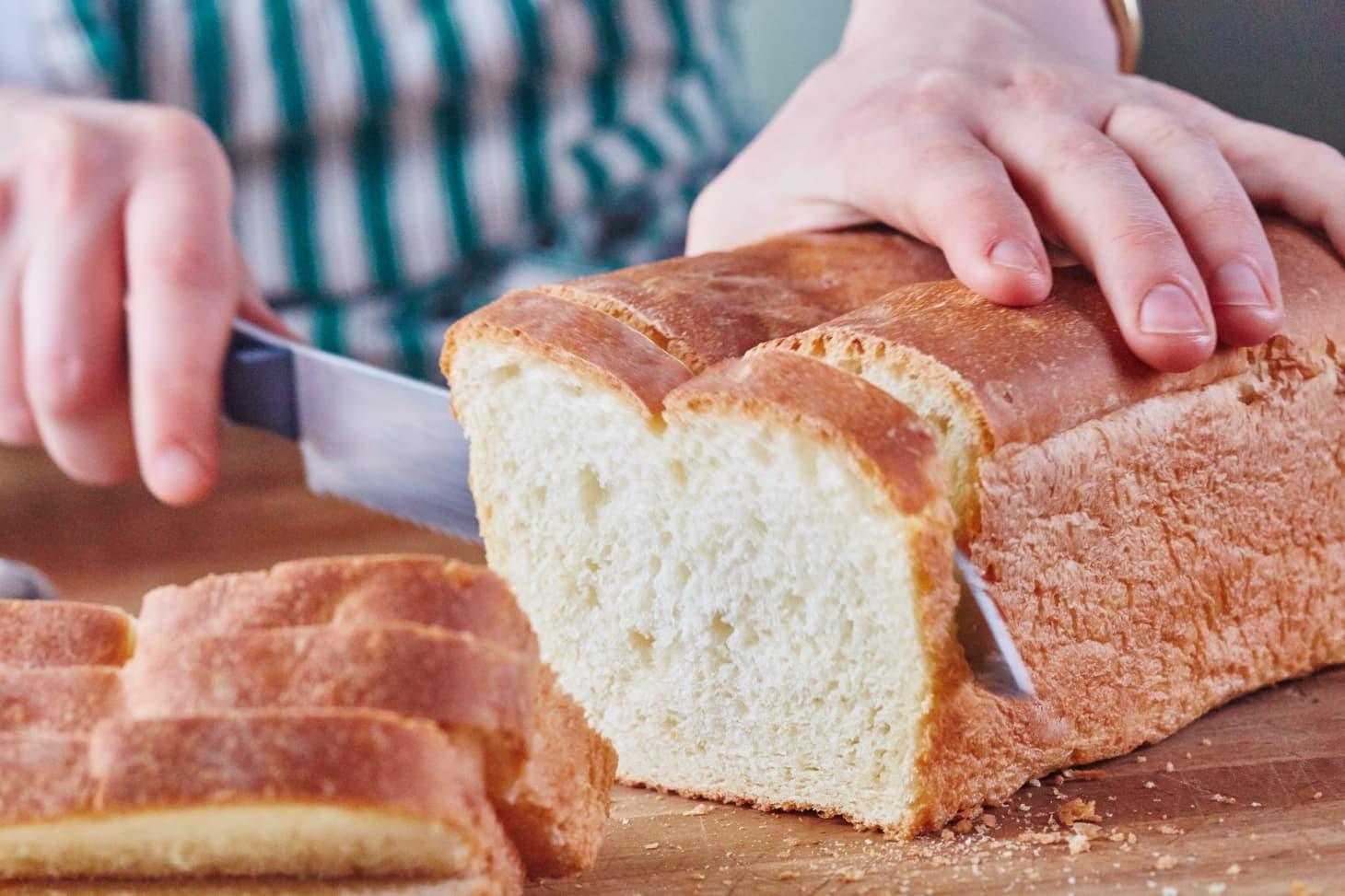 How To Make Basic White Sandwich Bread | Kitchn