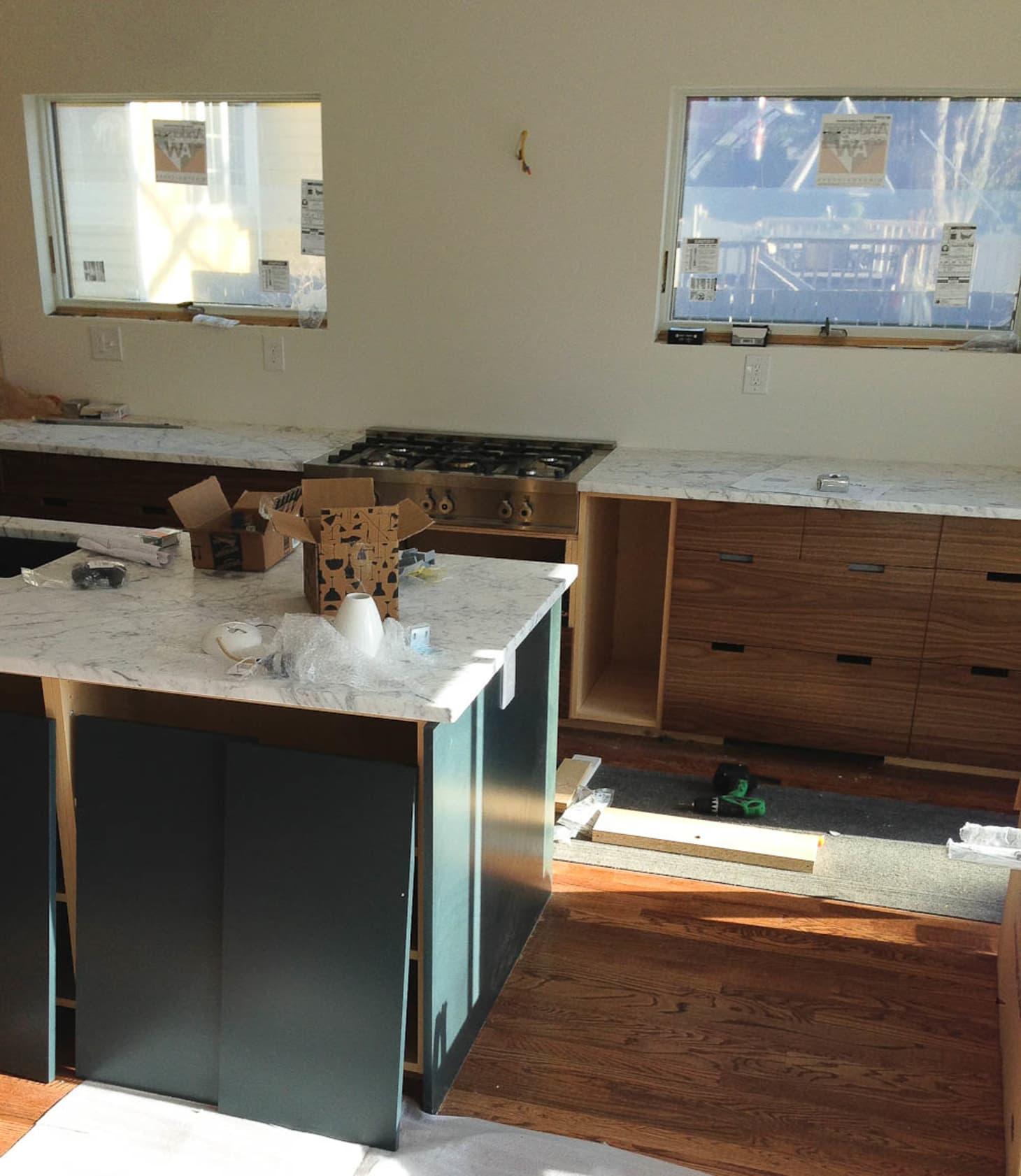 Faithu0027s Kitchen Renovation: How We Finally Got Our Carrara Marble  Countertops