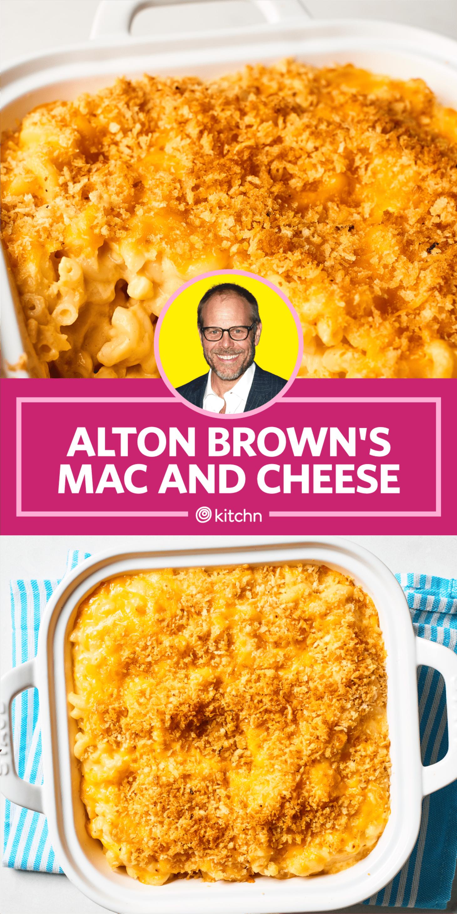 alton brown no bake mac and cheese