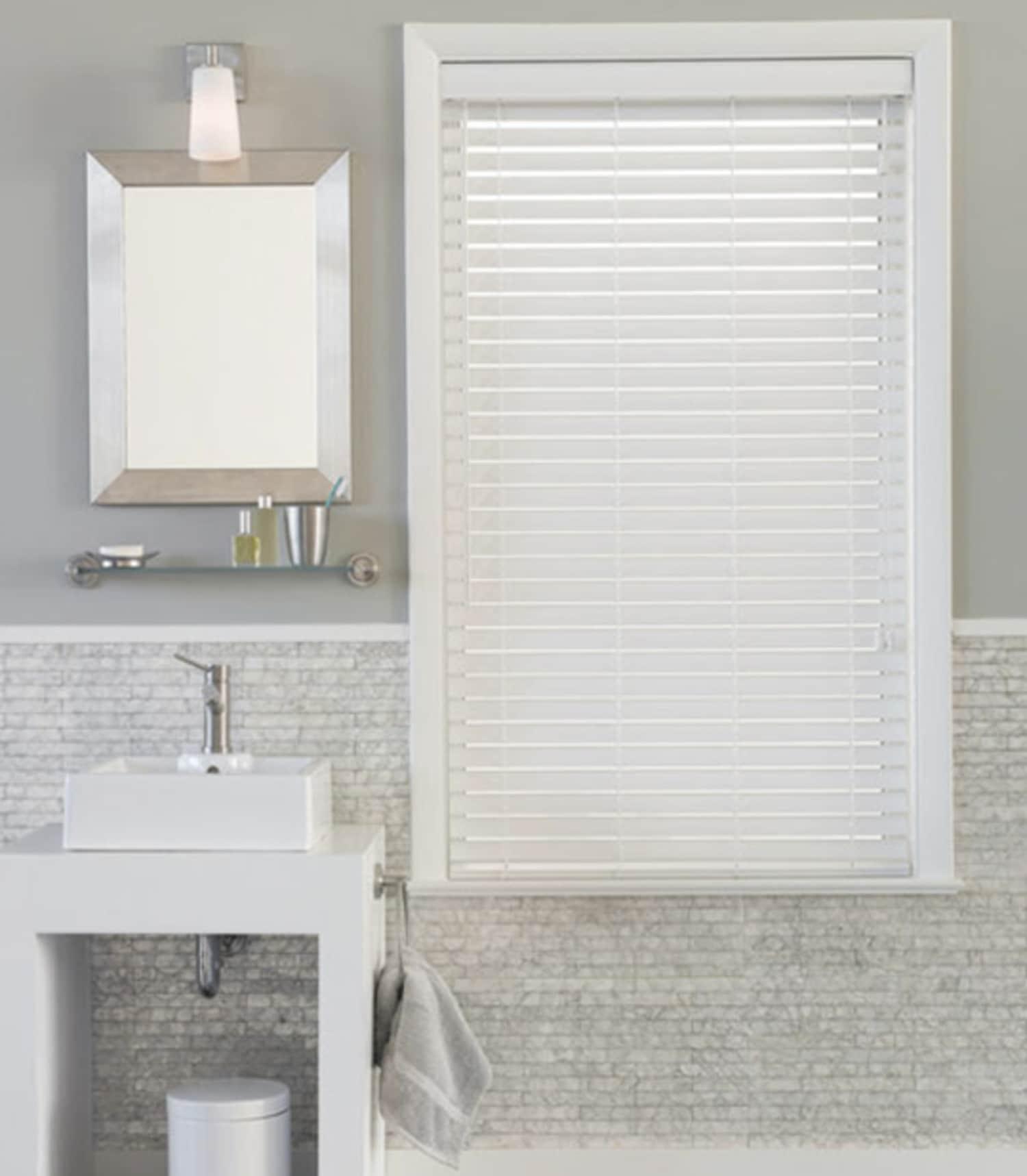 8 Solutions For Bathroom Windows
