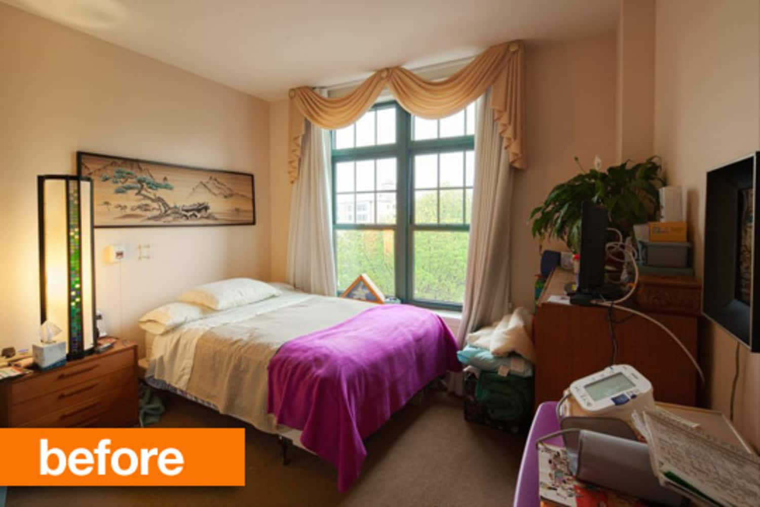 Before & After: Emily Henderson Transforms a Senior's Studio Space