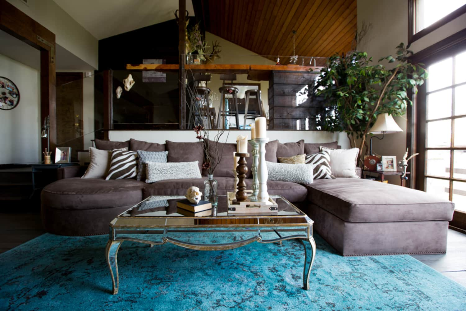 Rustic Meets Luxe in a Los Angeles Home