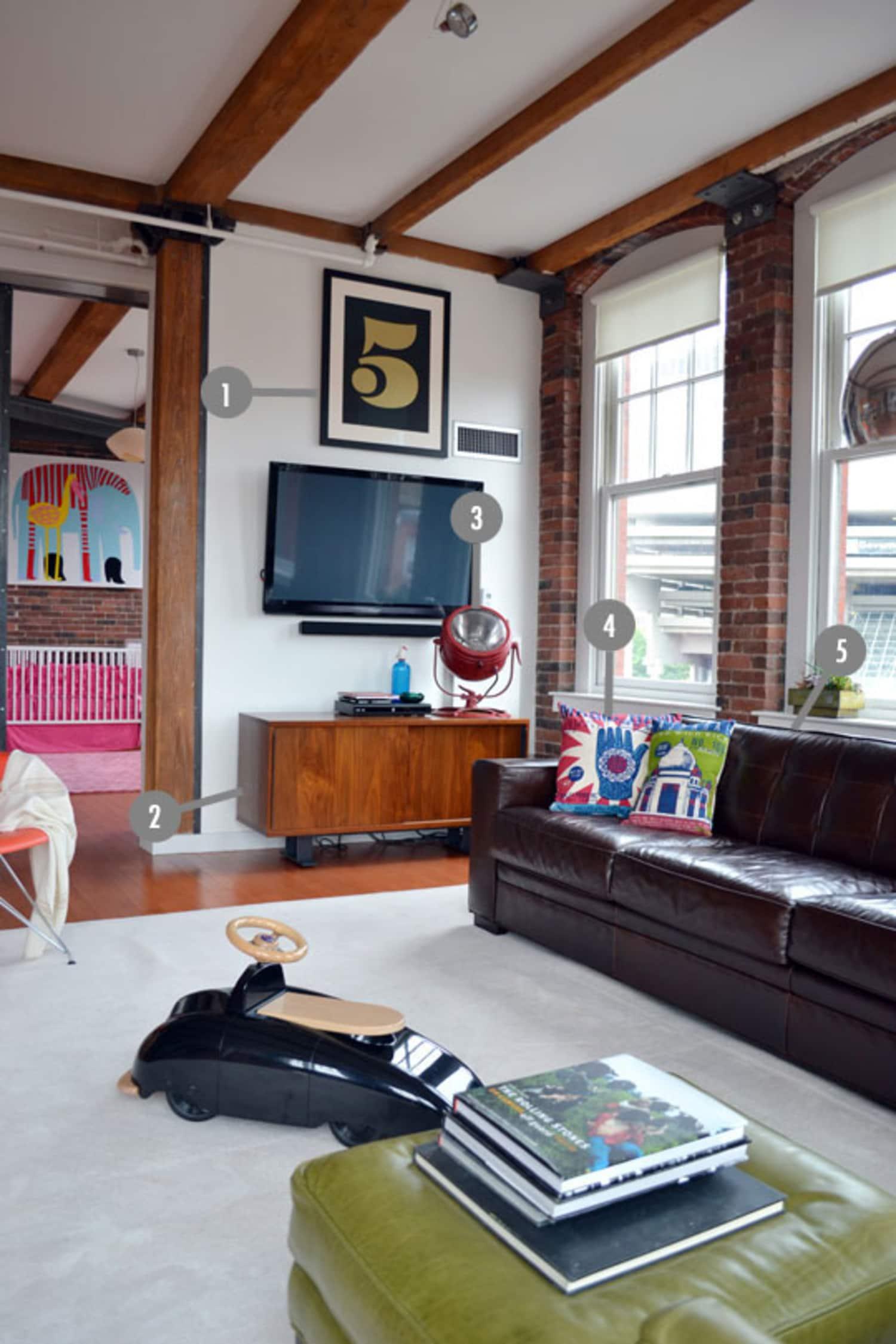 Shop the Room: Alexandra & John's Loft Living Room
