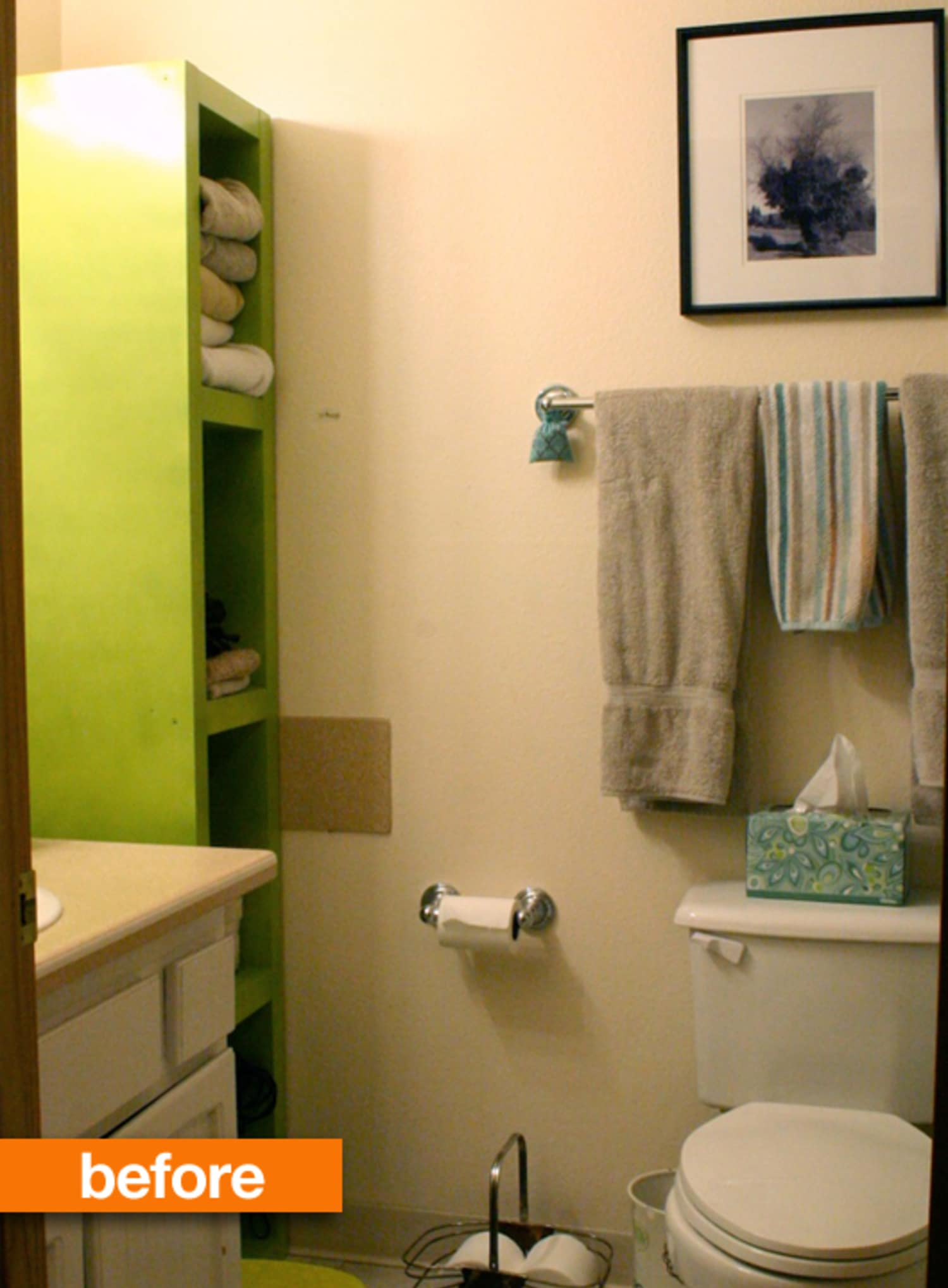 Before & After: Heidi's Epic Bathroom Makeover