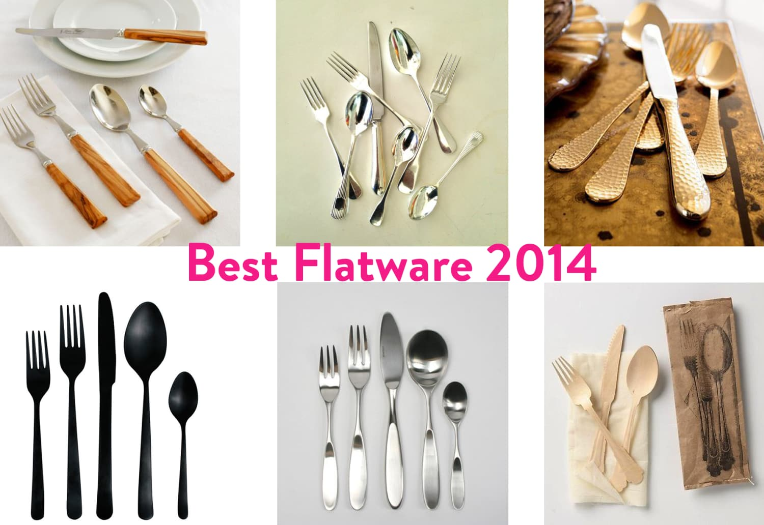Maxwell's Top Flatware Picks: Very High to Very Low