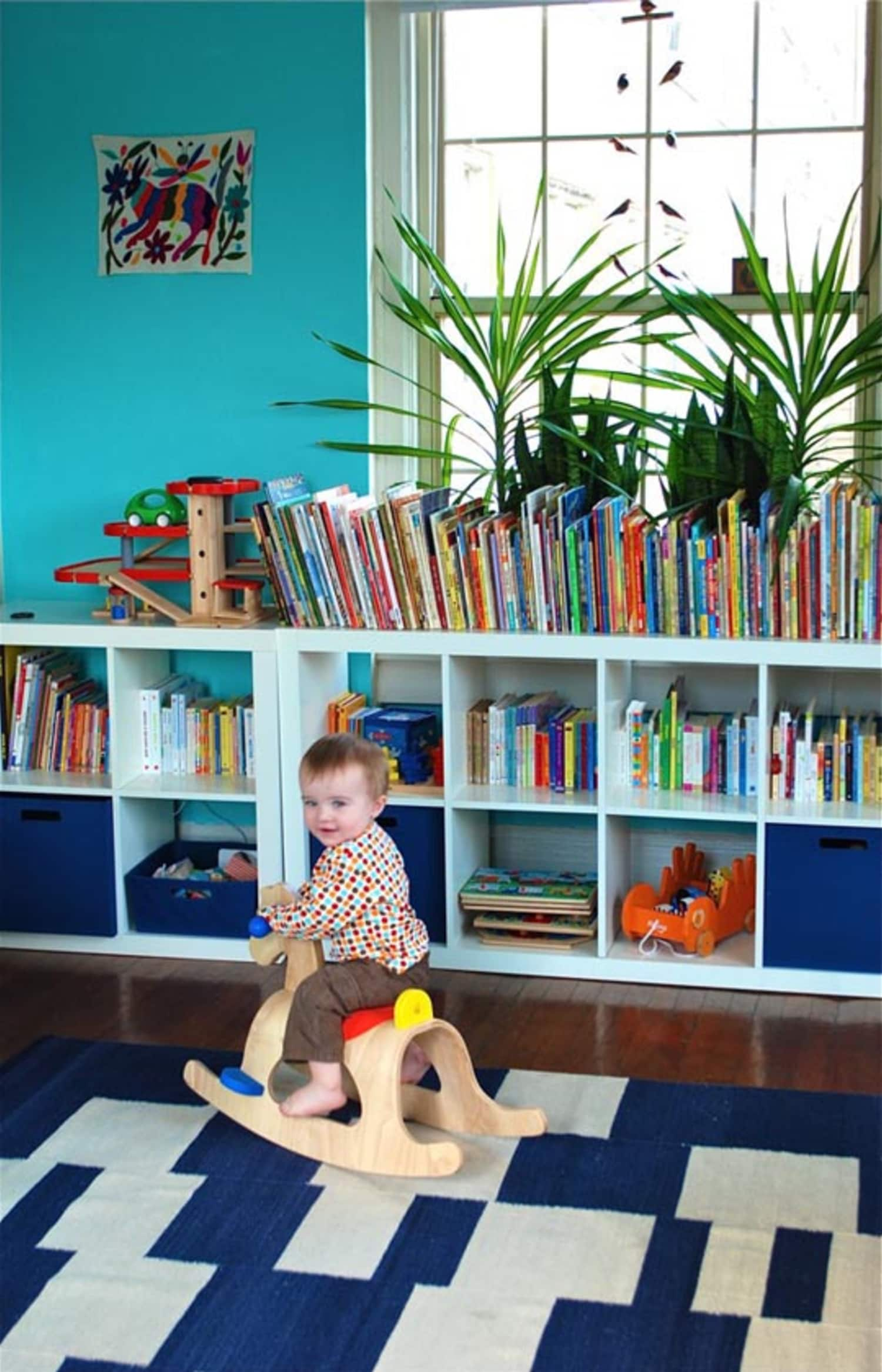 Childrens Kids 3 Tier Toy Bedroom Storage Shelf Unit 8: A Photographic Ode To IKEA's Expedit In Kids' Rooms
