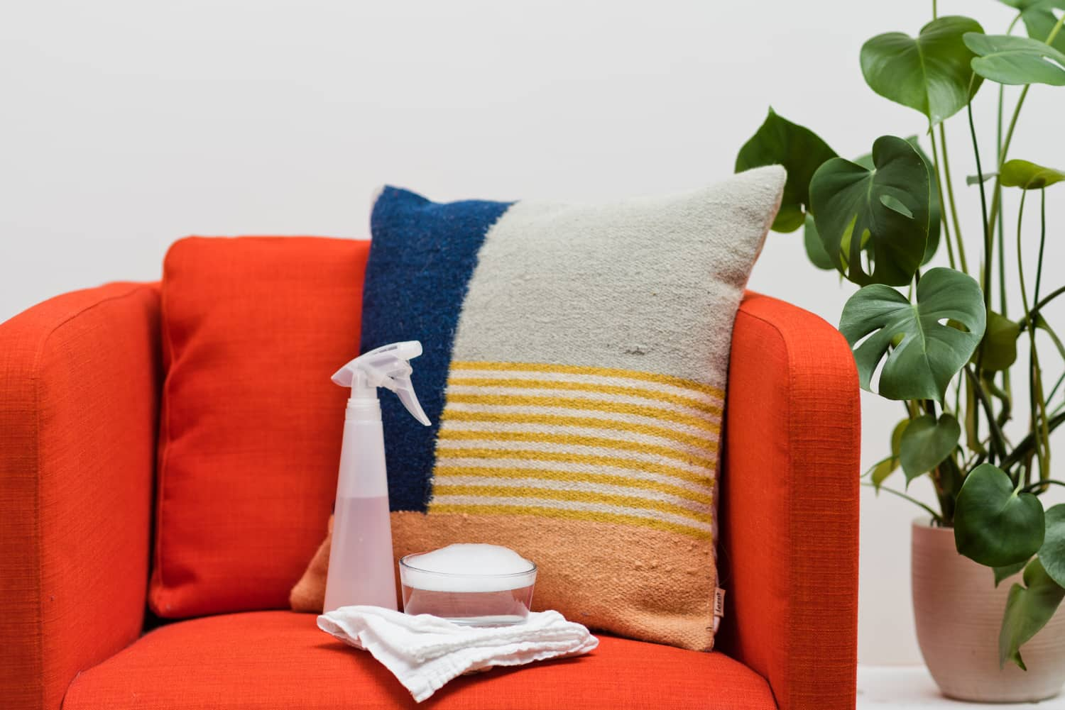 How To Spot Clean Old Or Set In Upholstery Stains