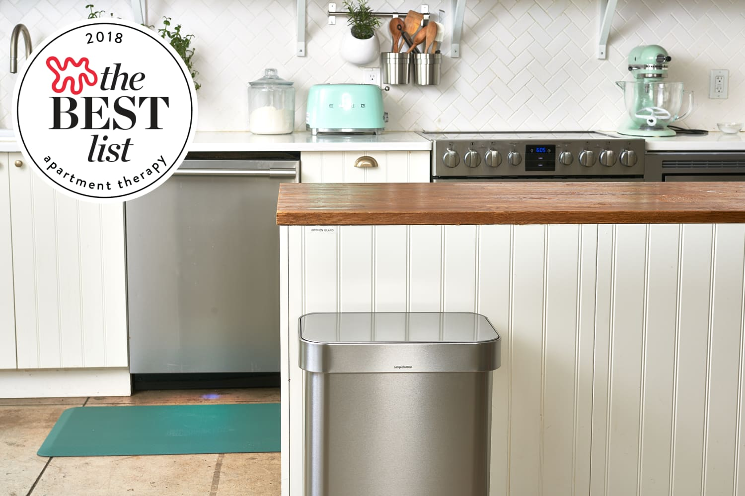 The Best Kitchen Trash Cans Apartment Therapy