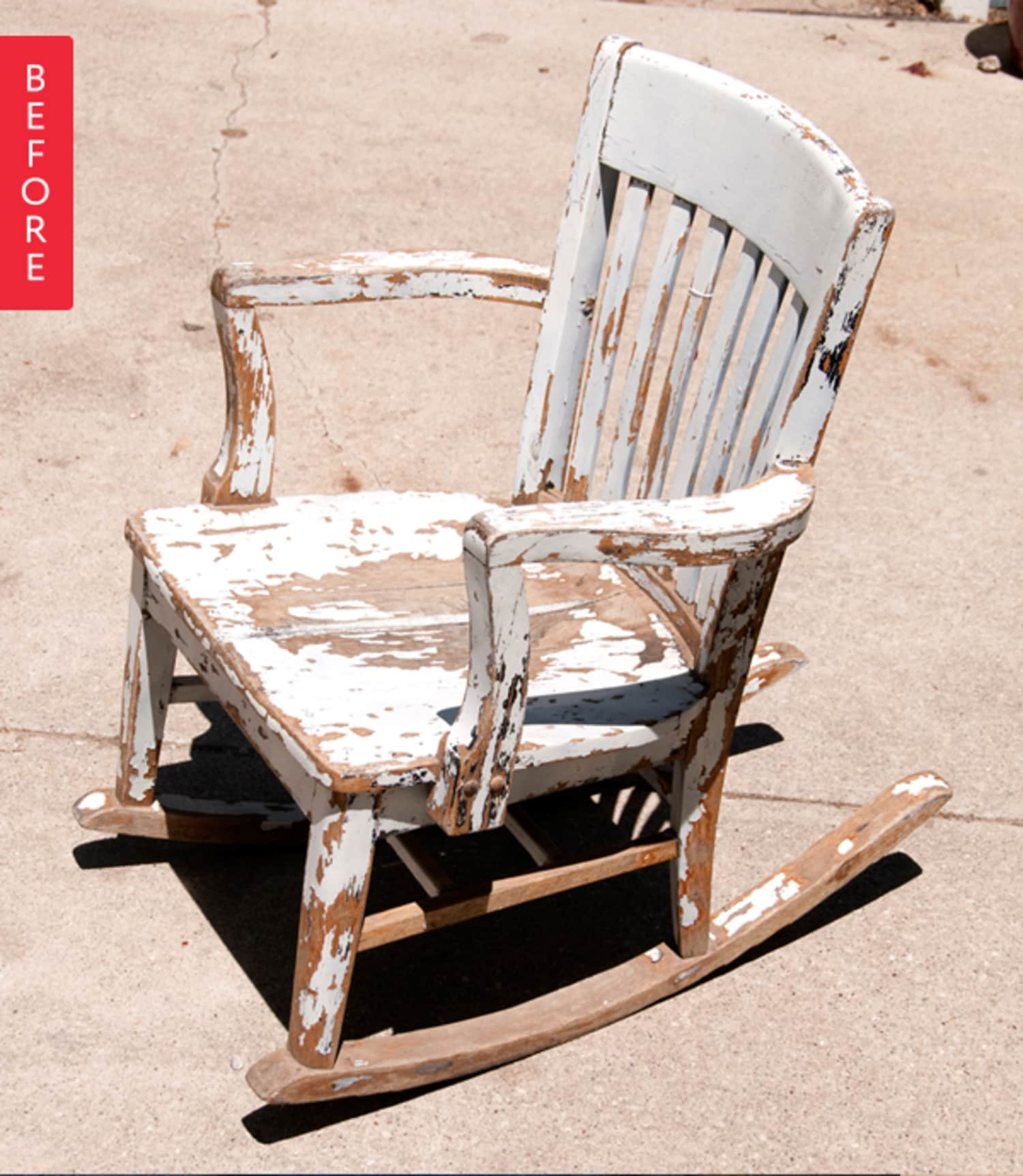 Before & After: A New Mom Gets a New Old Rocker