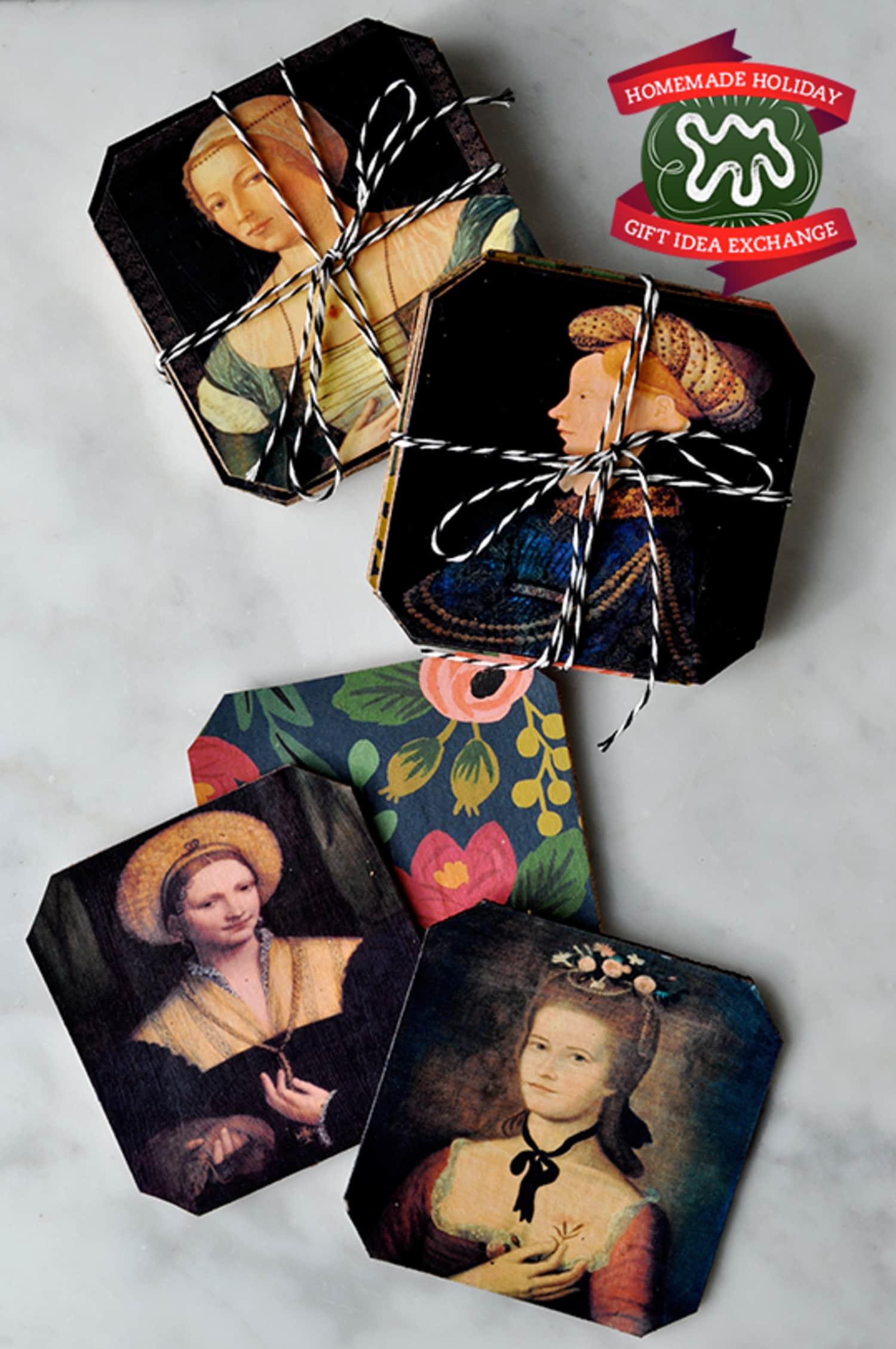 Homemade Holiday Gift Idea!: Make Easy Custom Coasters