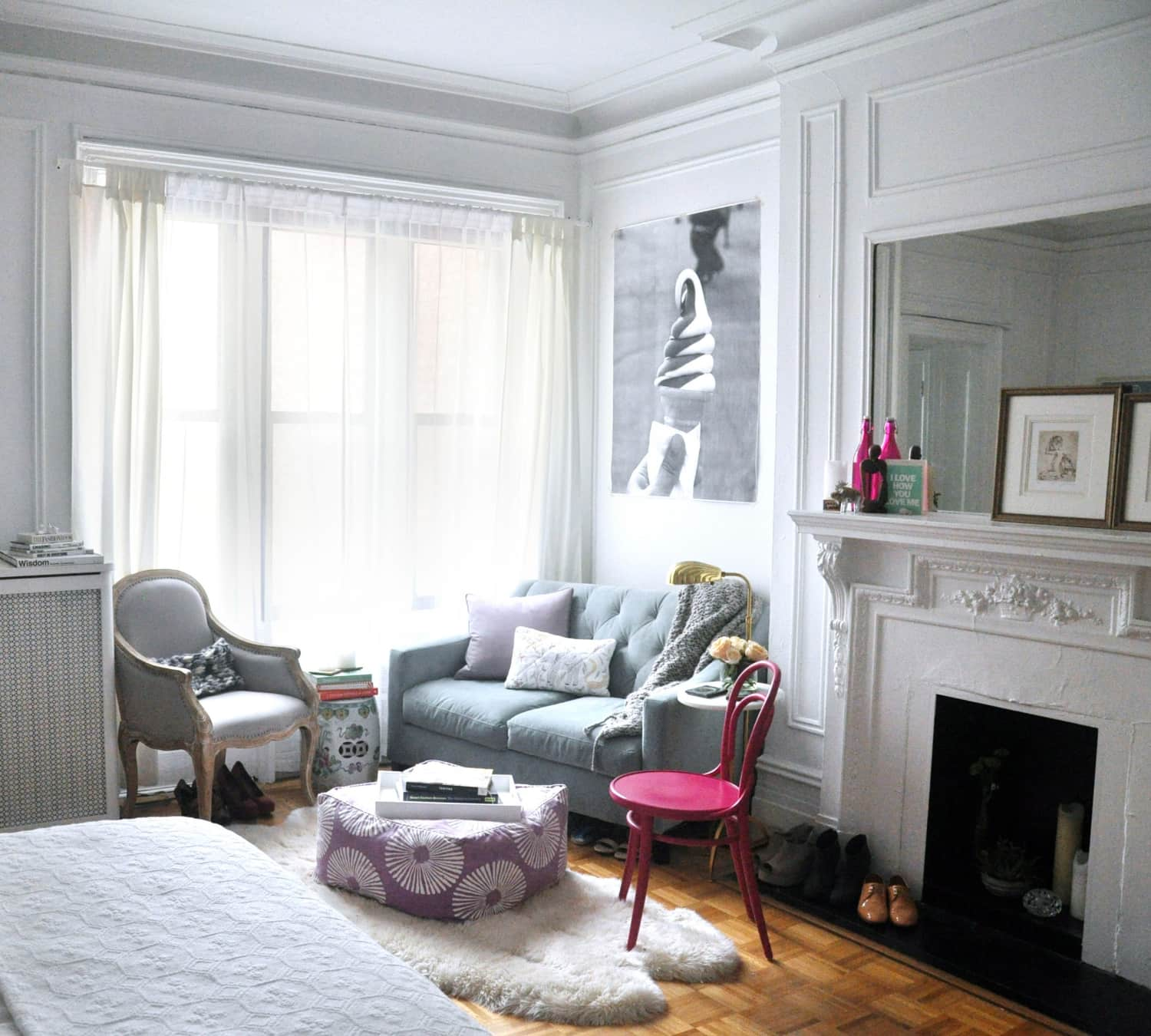 2 Bedroom Apartment In New York: 5 New Yorkers Who Made The Most Of Seriously Small