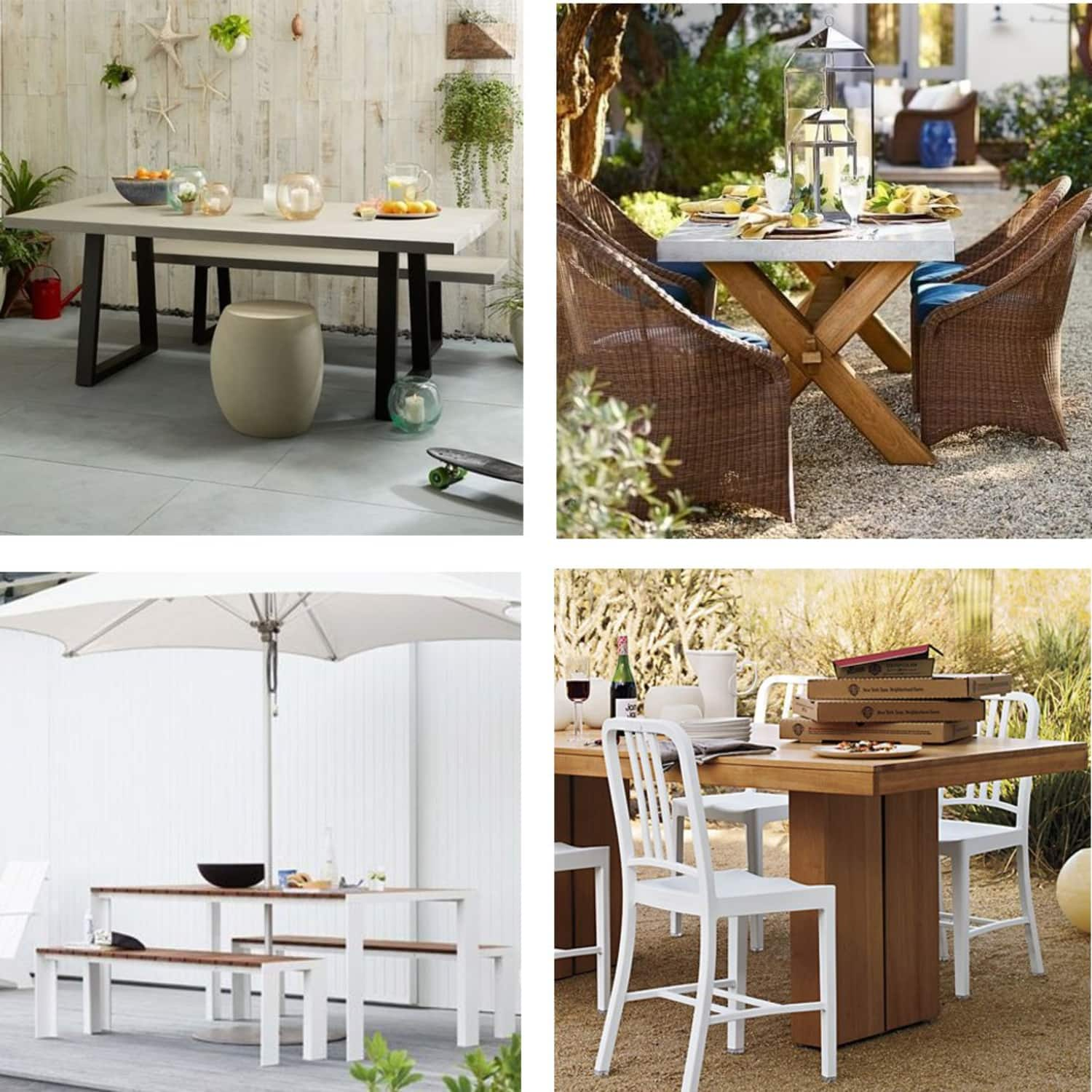 Best outdoor dining sets dwr west elm crate ikea 8 more