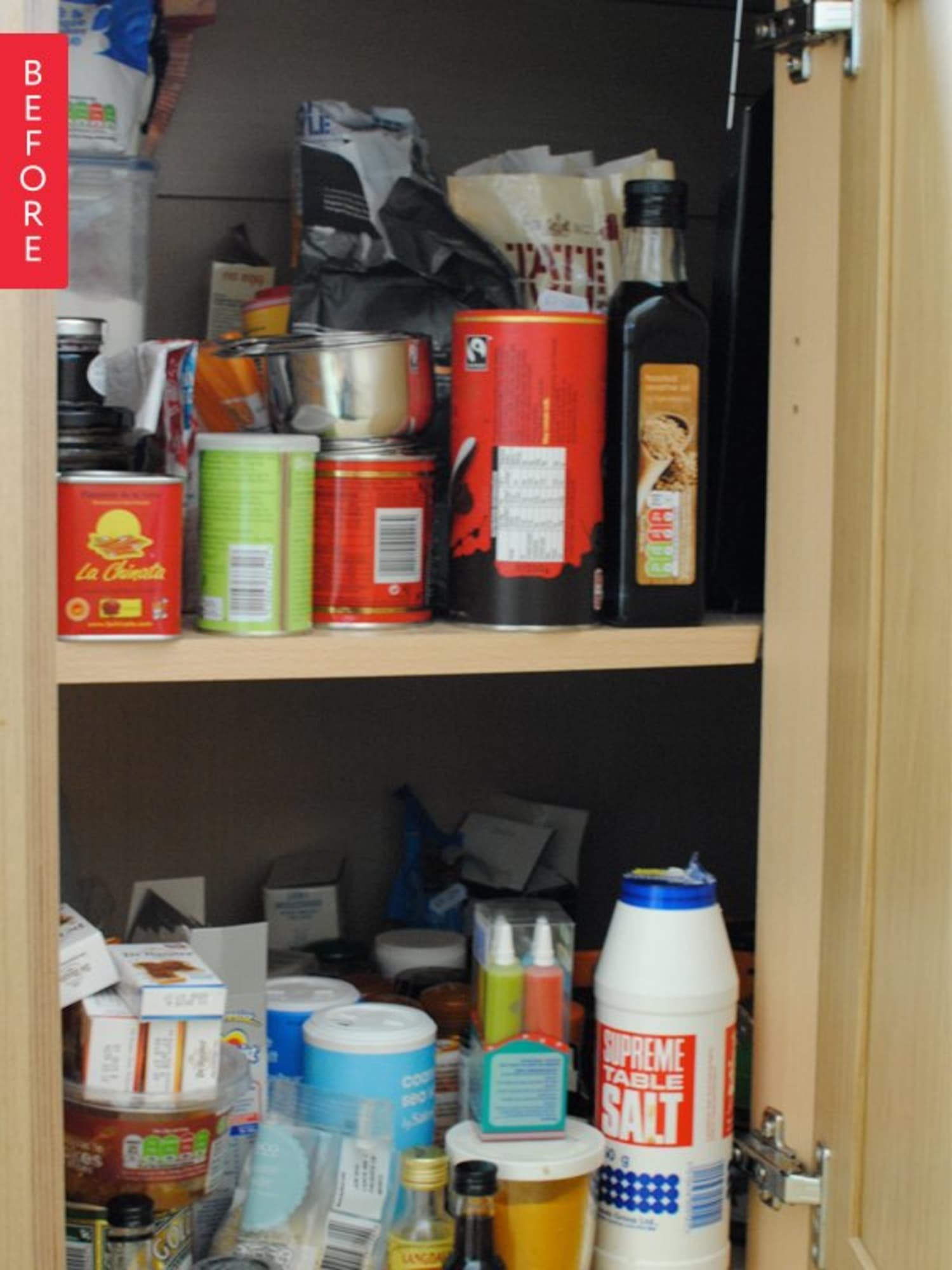 Before & After: Eleanor's Corner Kitchen Cupboard Clearout