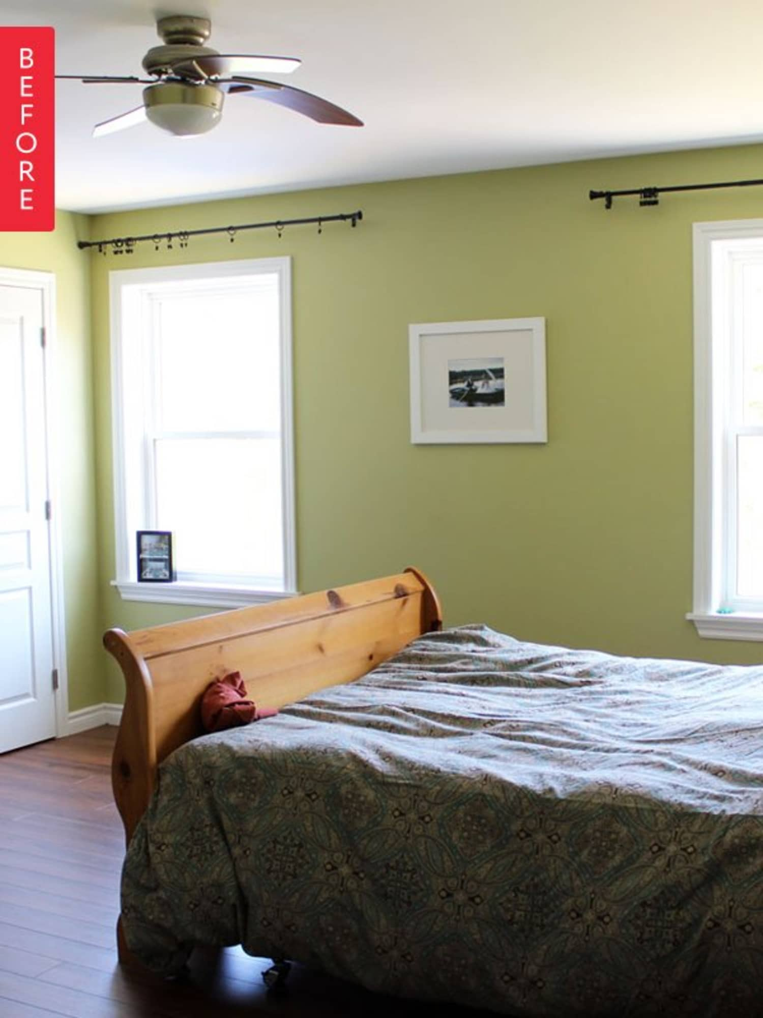 Before & After: A Refreshed Bedroom Retreat