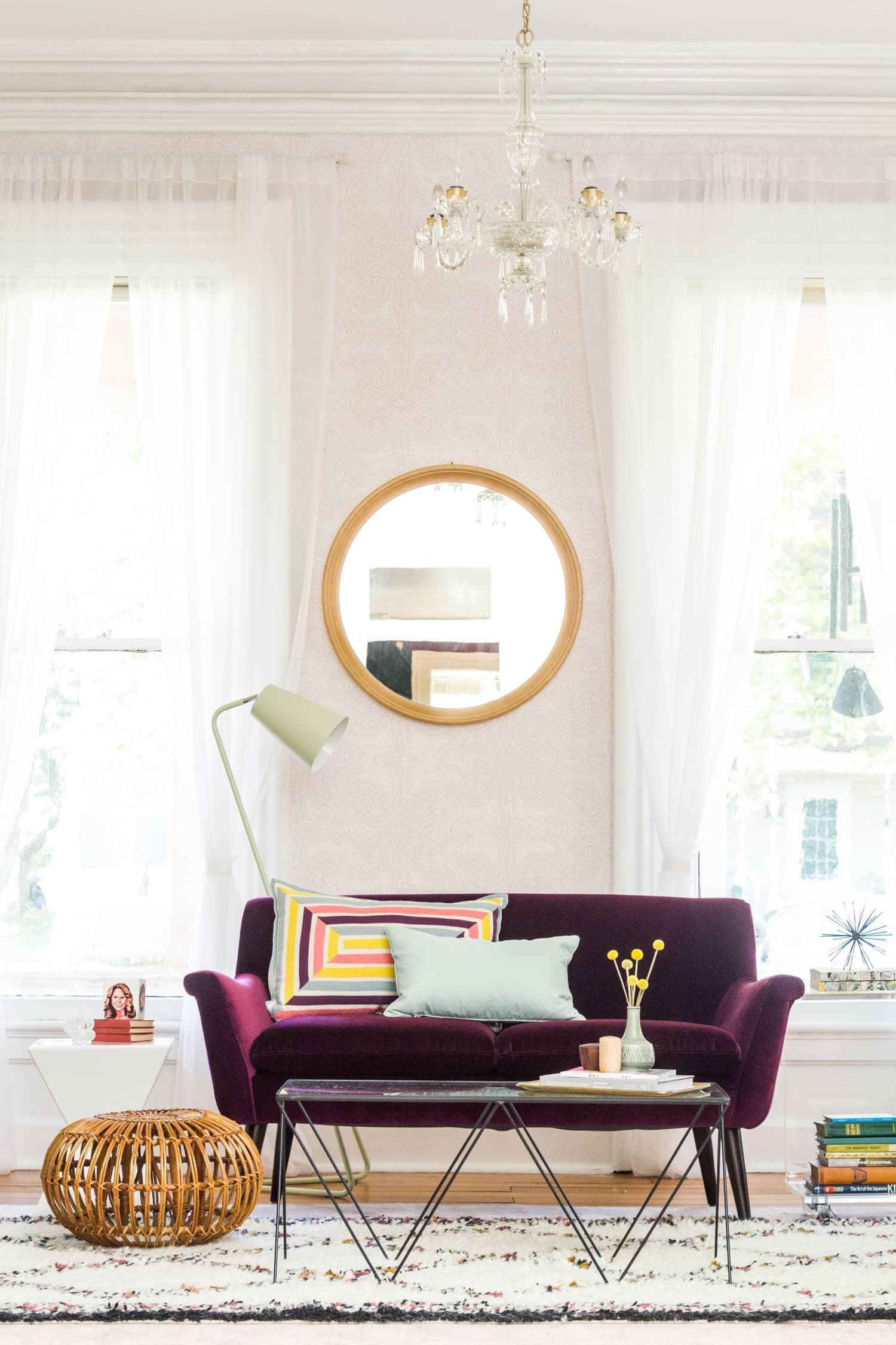 Design School Case Study: How We Chose Ashley's Living Room Rugs