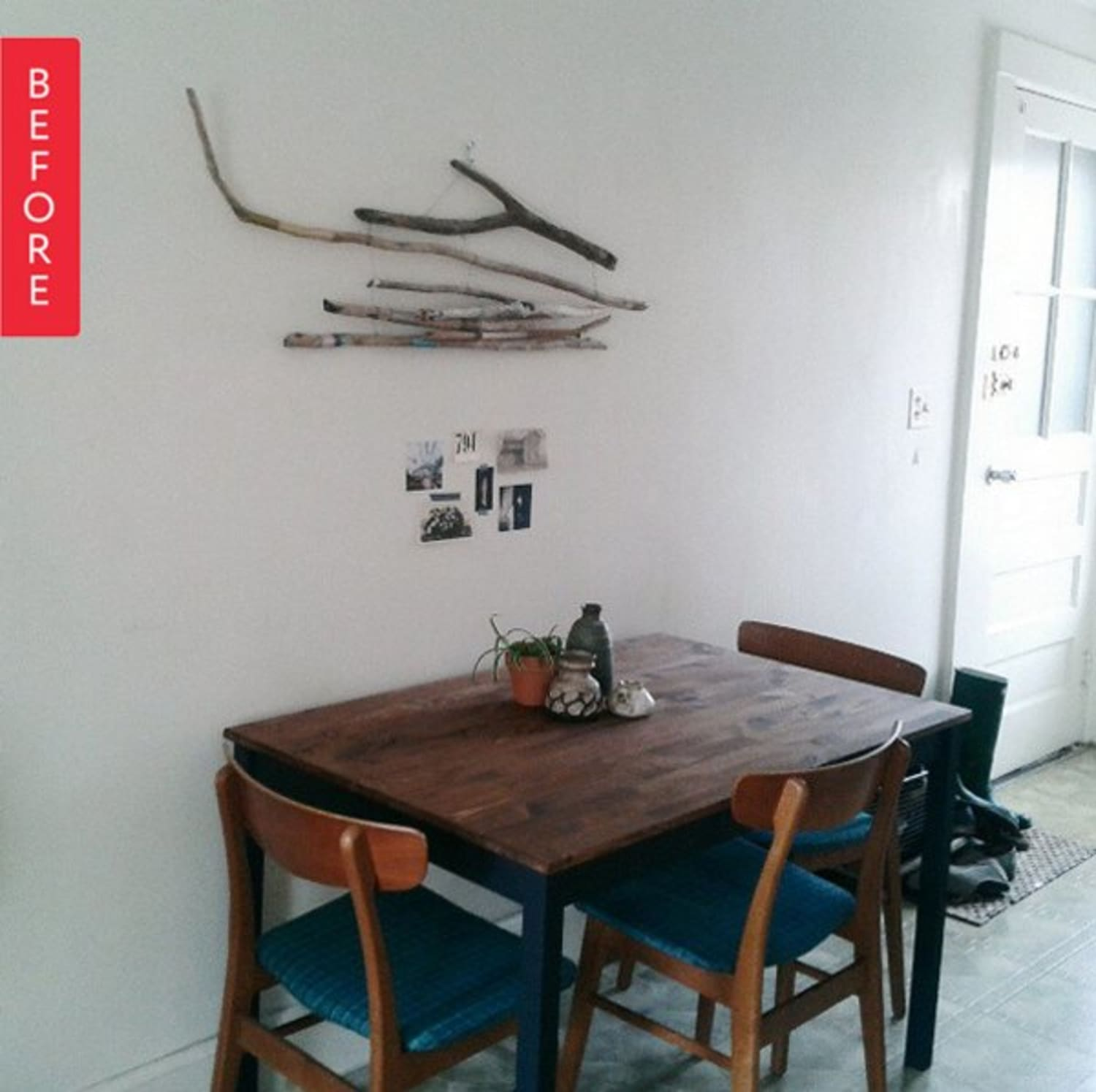 Kitchen Flooring Apartment Therapy: Before & After: A Quick Rental Floor Fix, For Under $200