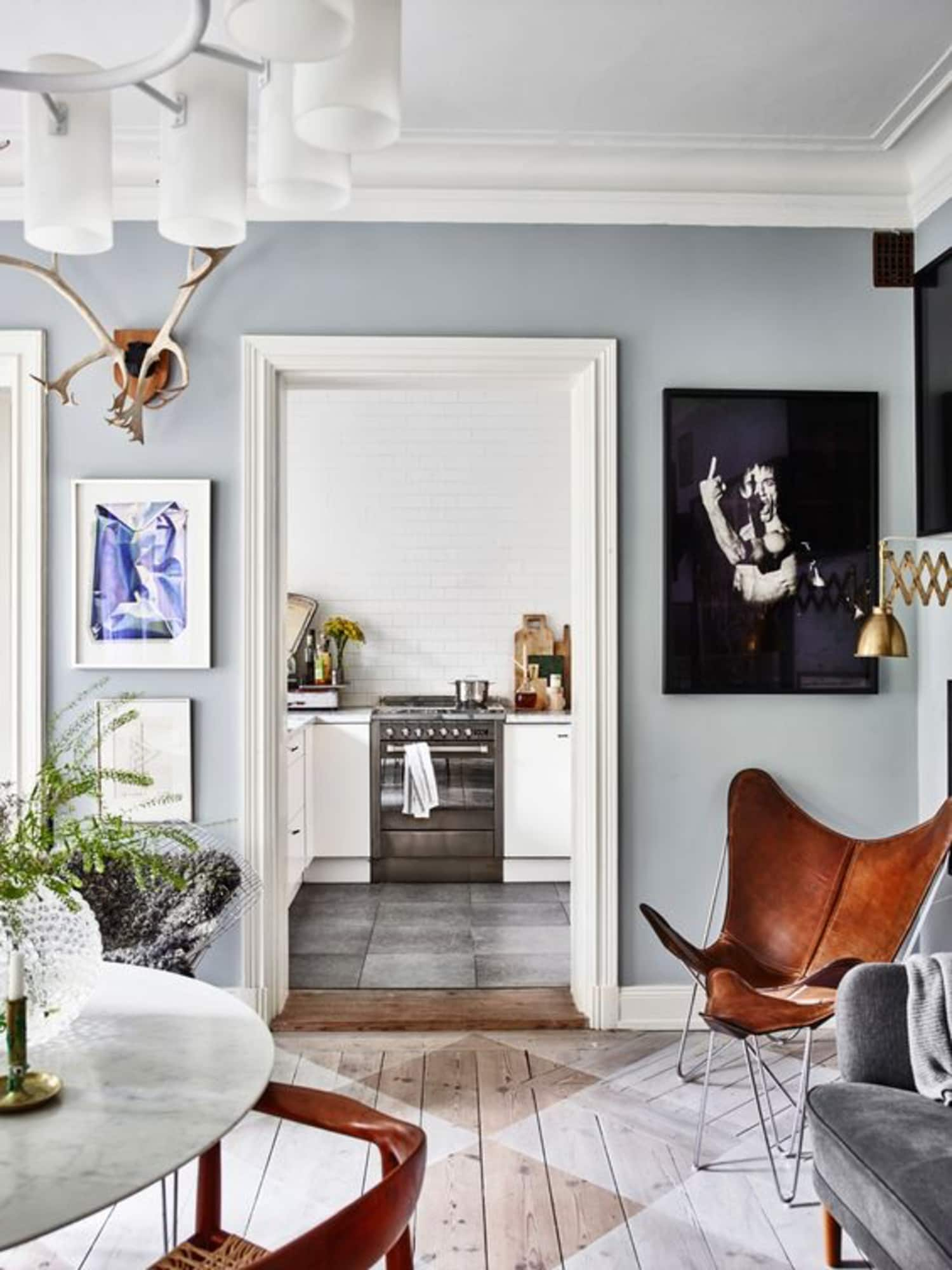 A Gallery of Scene-Stealing Painted Floors