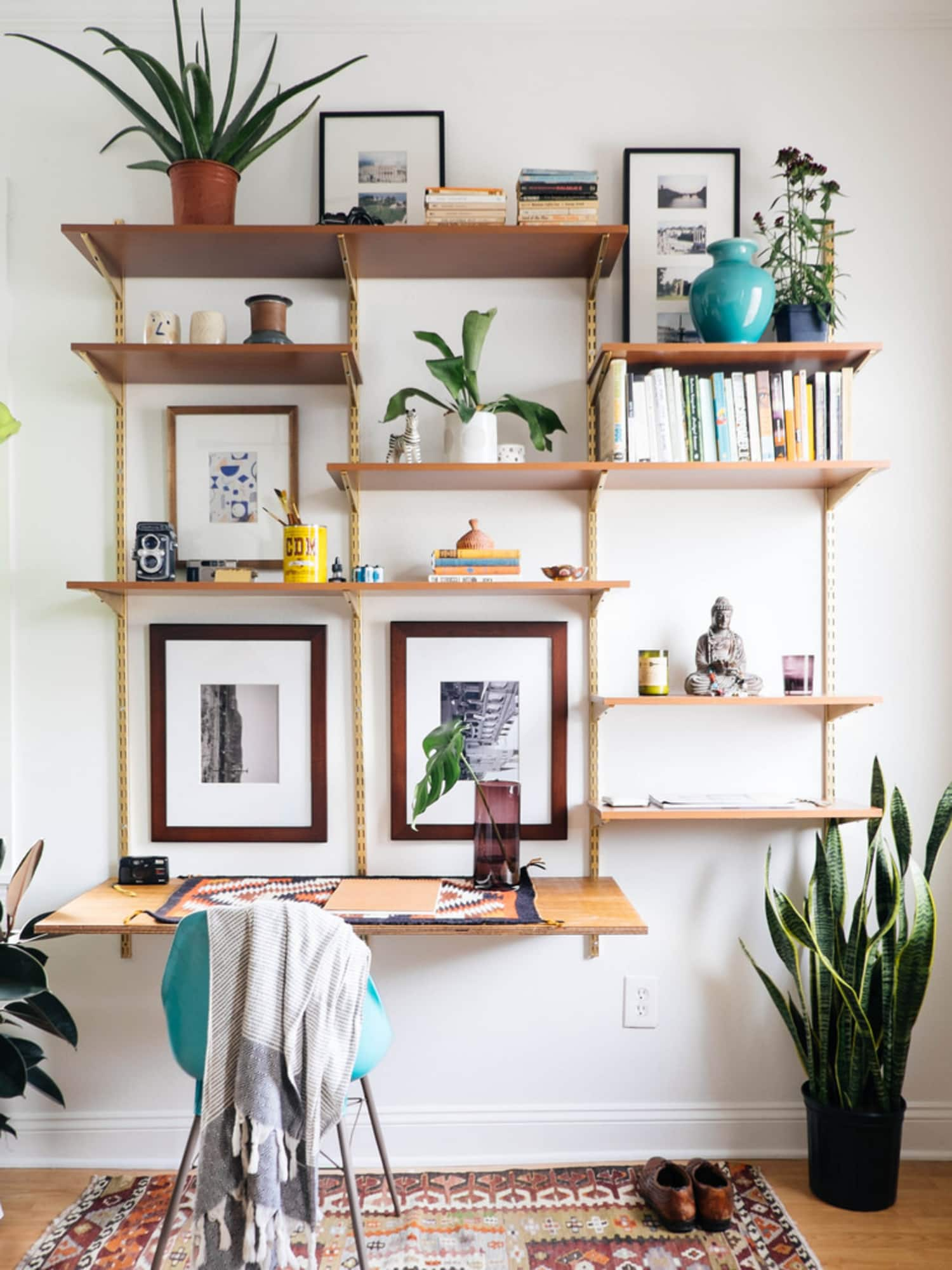 diy shelving system | Wall-Mounted Shelving Systems You Can DIY | Apartment Therapy