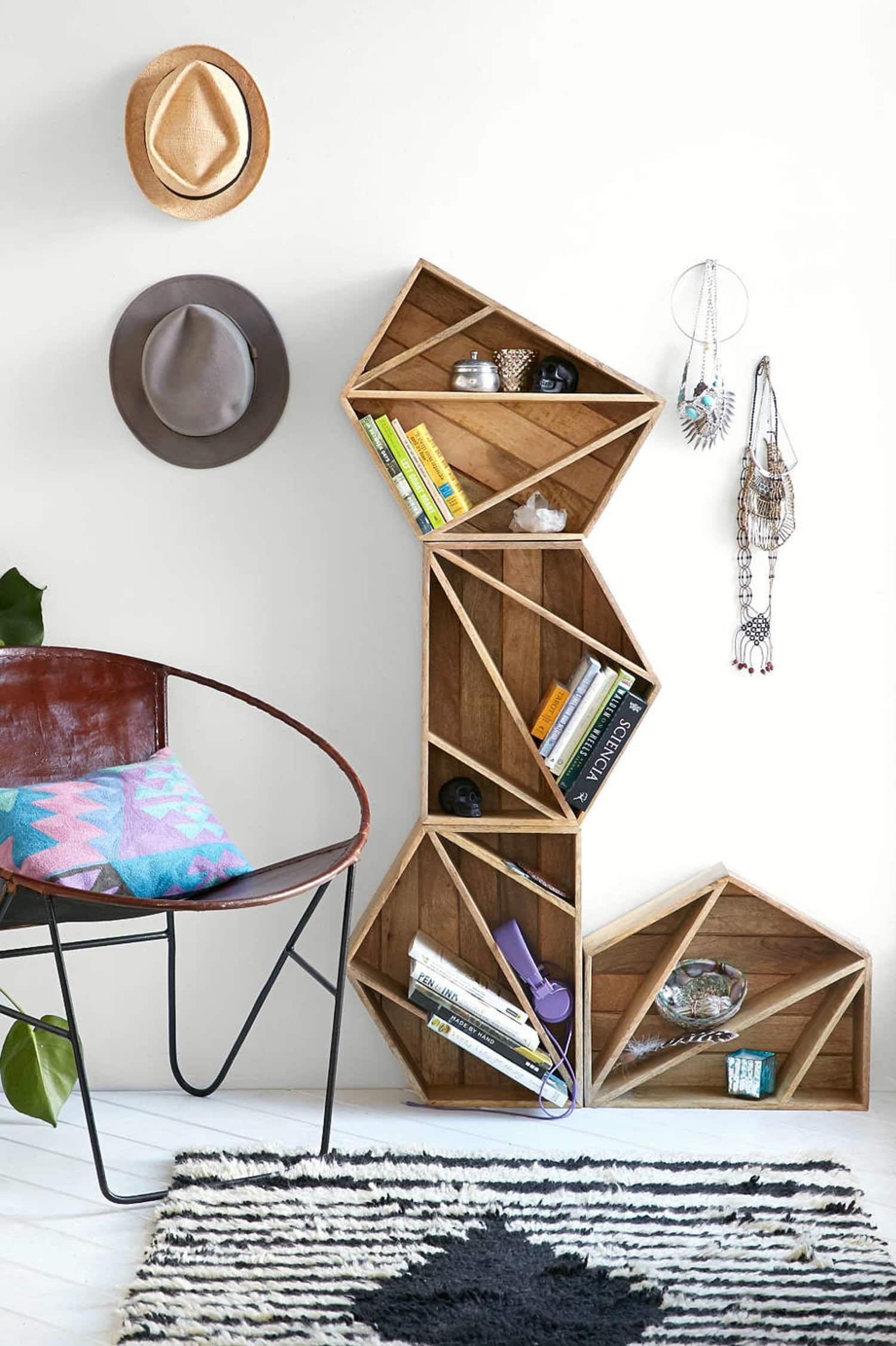 Buy or DIY: The Coolest Geometric Shelves Under $100
