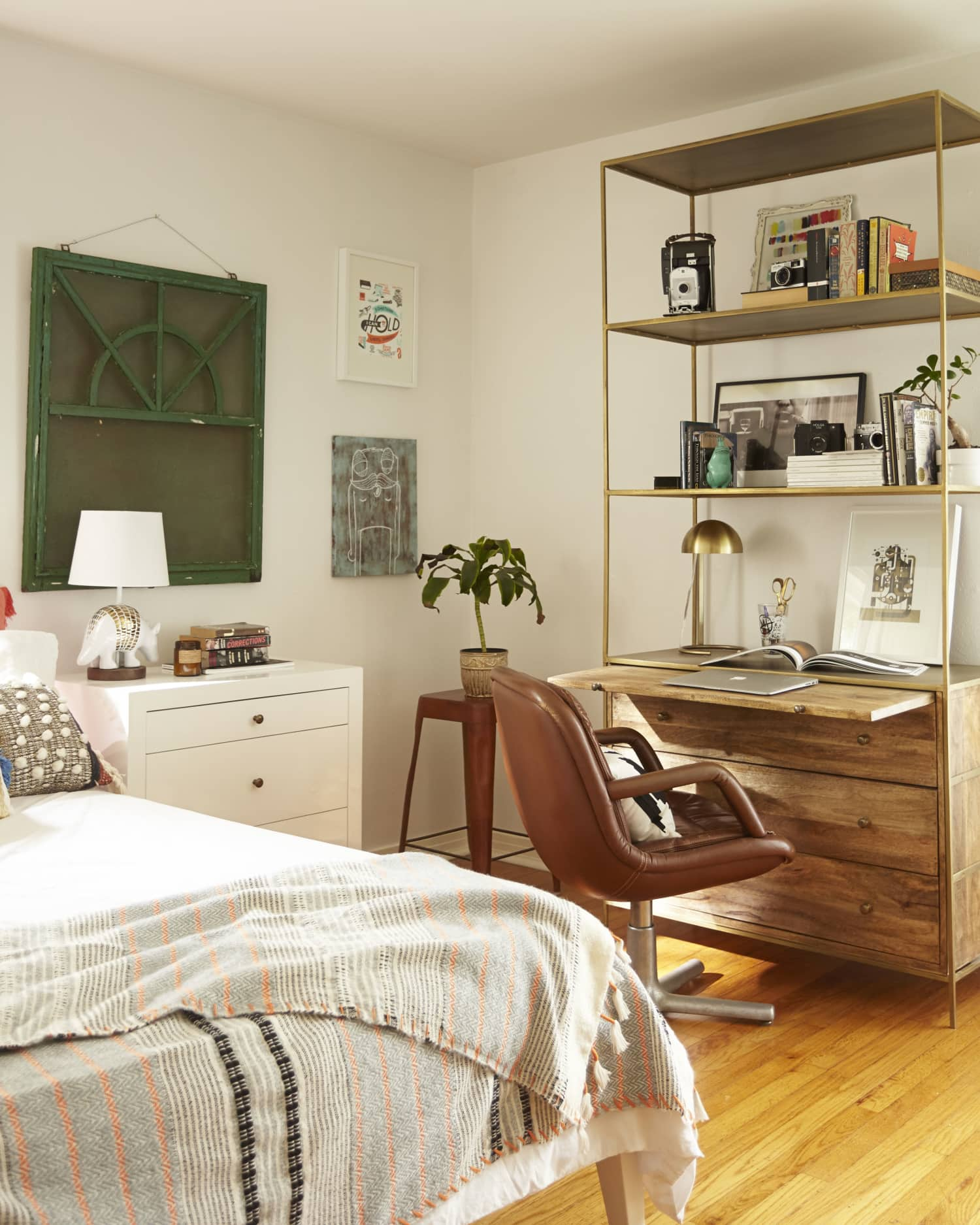 Get the Look: A Texture-Rich Blend of Bohemian & Mid-Century Styles