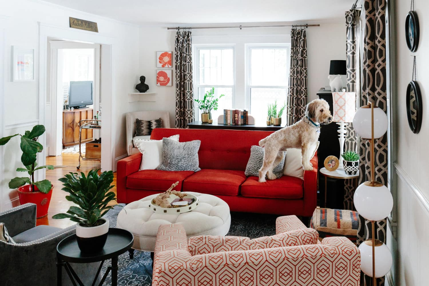 Cure for a Humdrum Living Room: Plenty of Pattern