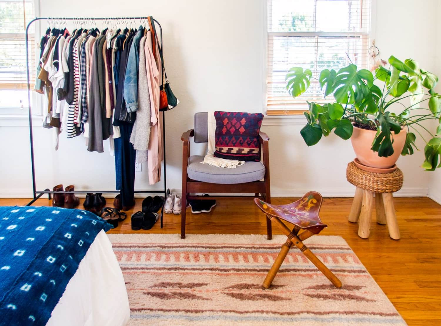 How to Cope with Little or No Bedroom Storage (& Maximize the Storage You Have!)