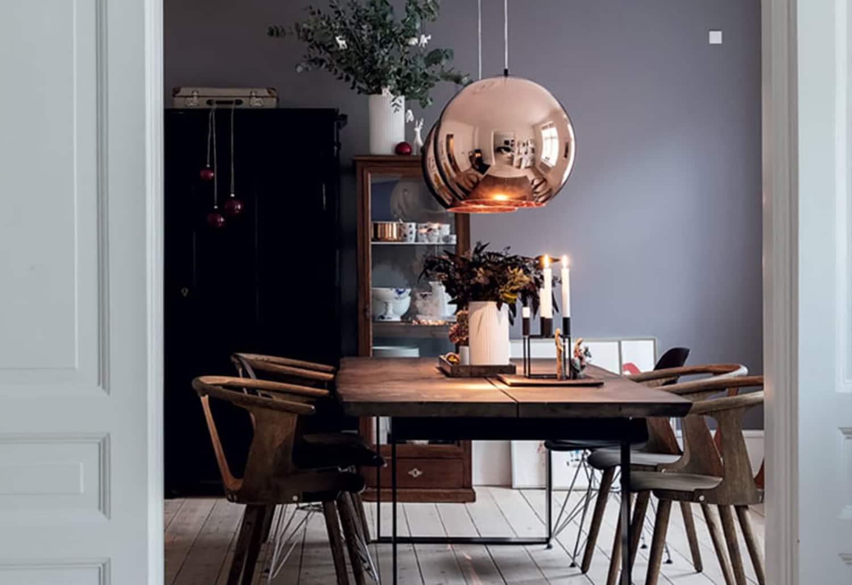 Low, Medium, High: 10 Beautiful, Modern Copper Chandeliers