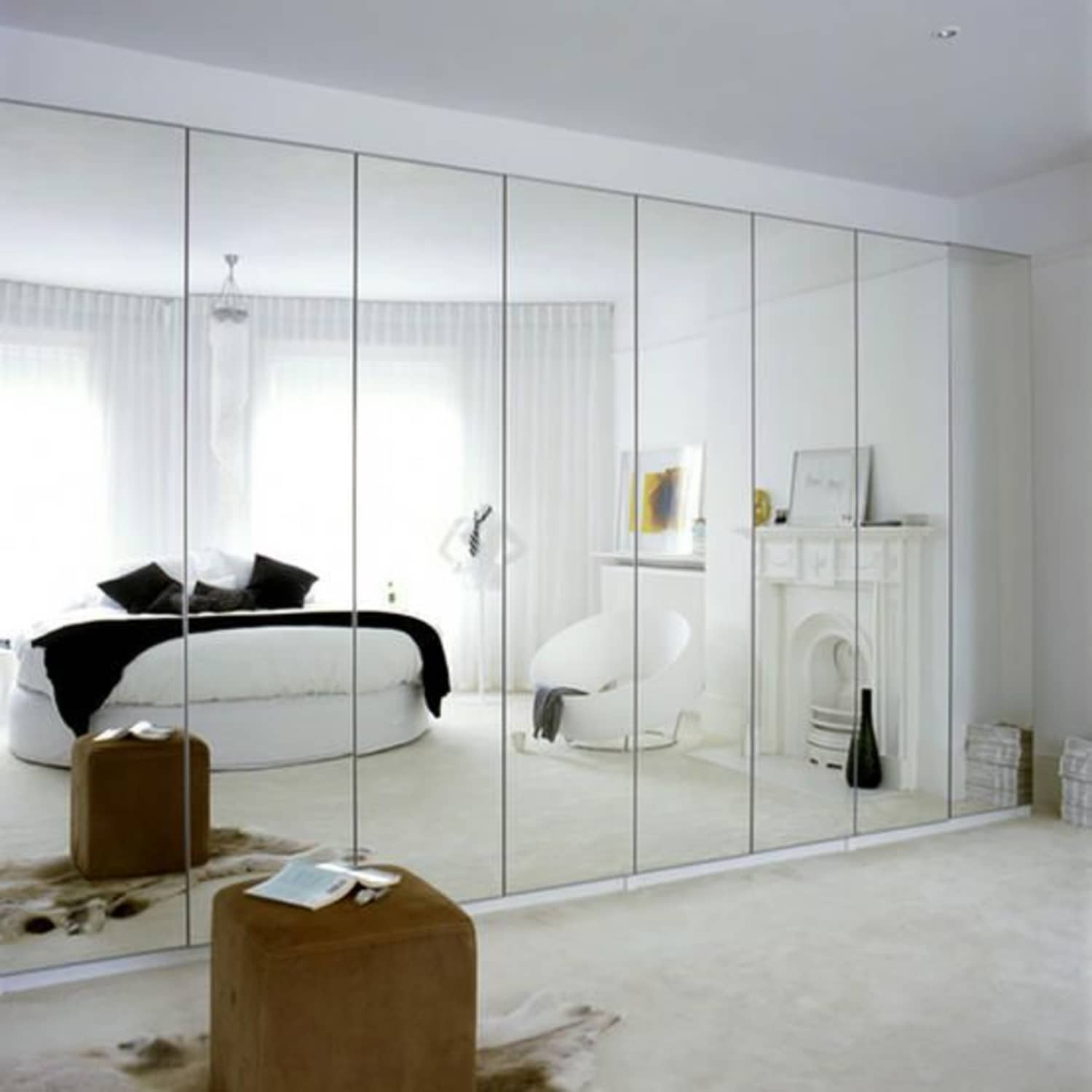 Plagued With Dated Mirrored Walls? 5 Design Ideas to Make ...