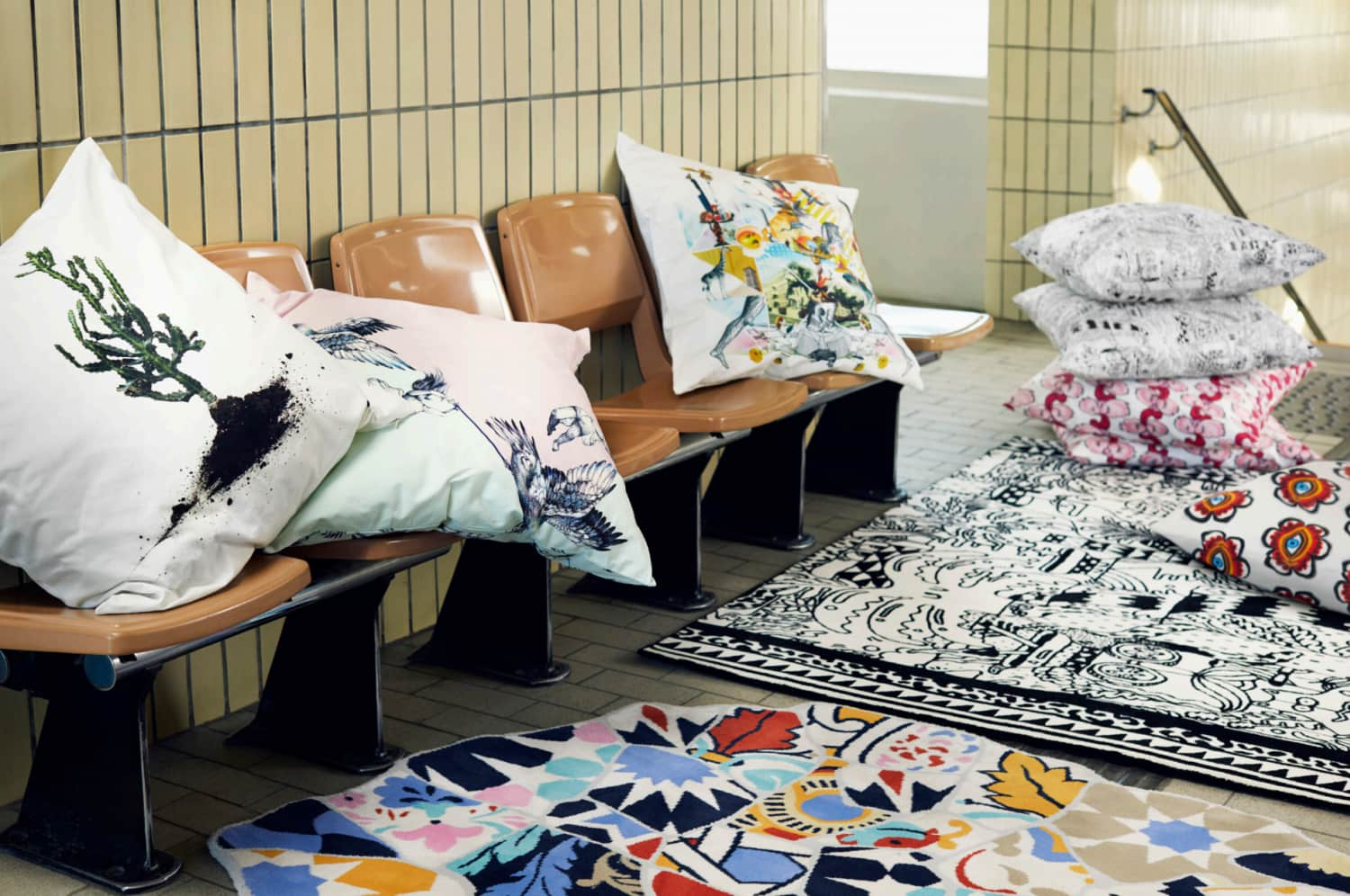 IKEA's New Limited Edition Collection Is For People Who Aren't Afraid of Pattern