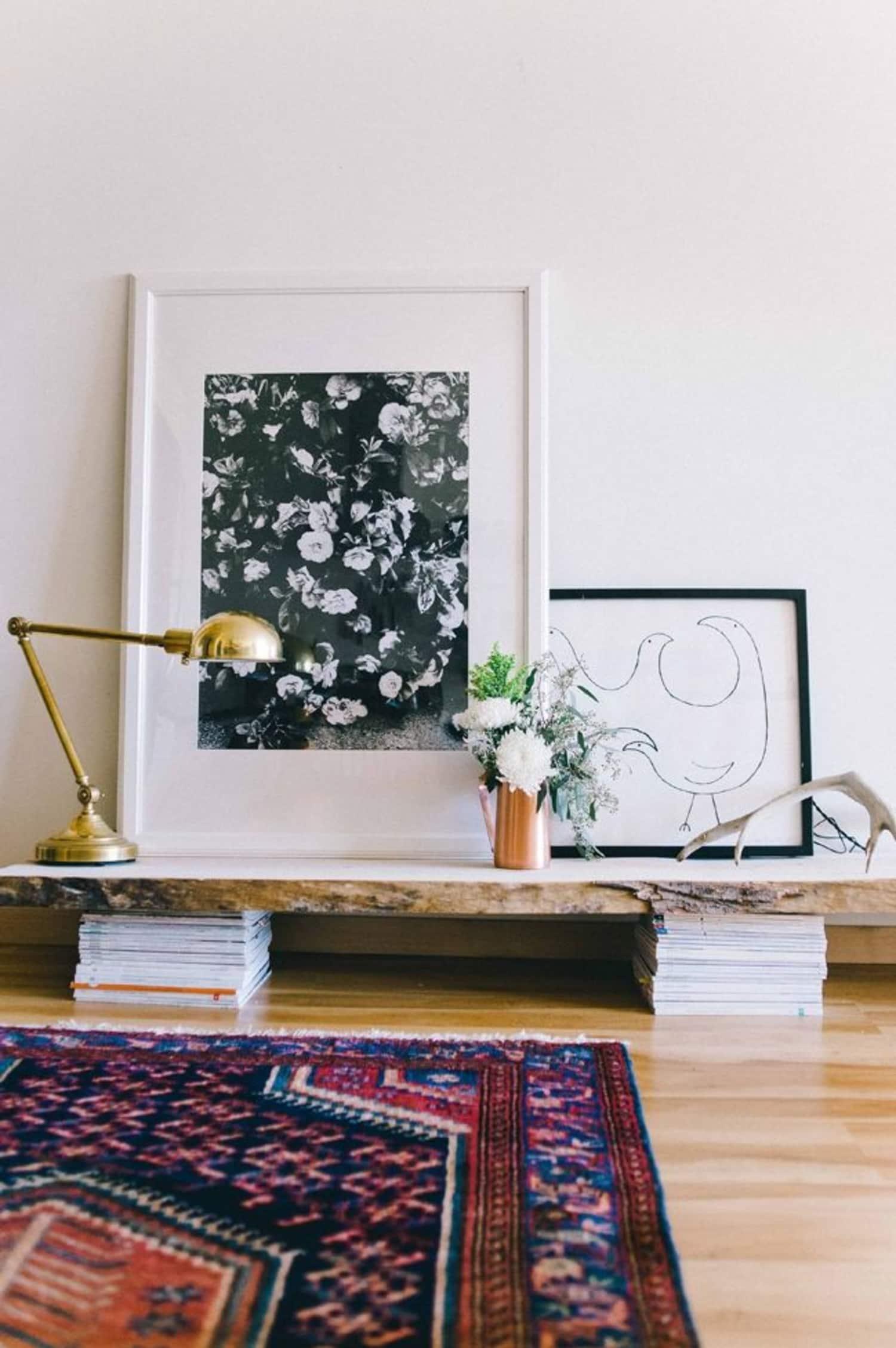 The Long, Low Shelf Is a Designer Trick That Never Fails