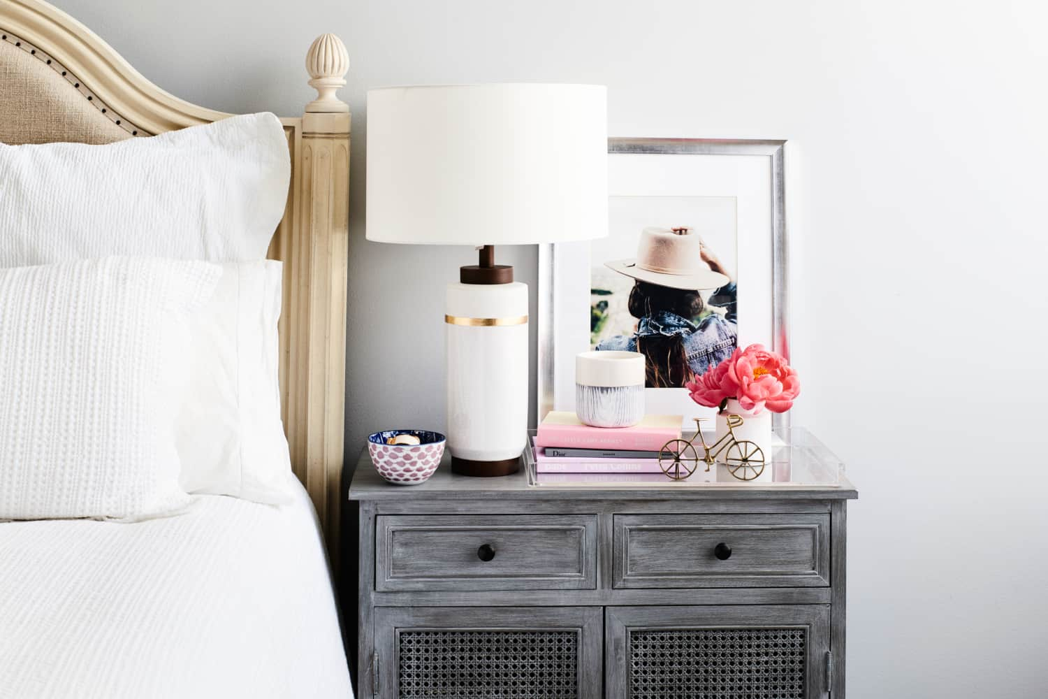 Make It Beautiful: Our Formula For Styling the Nightstand of Your Dreams