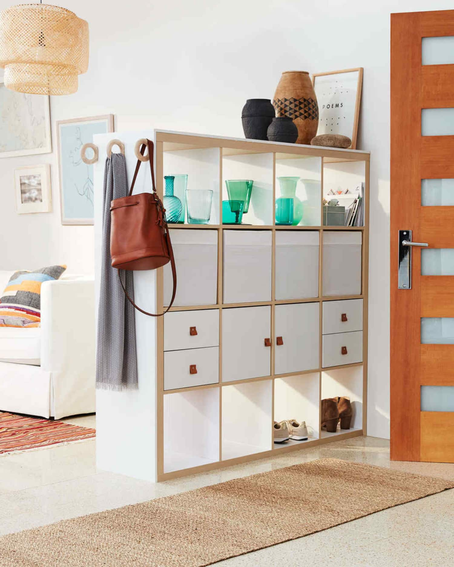 Smart Ways to Use Furniture to Add Storage (and Structure!) to an Open-Plan Space