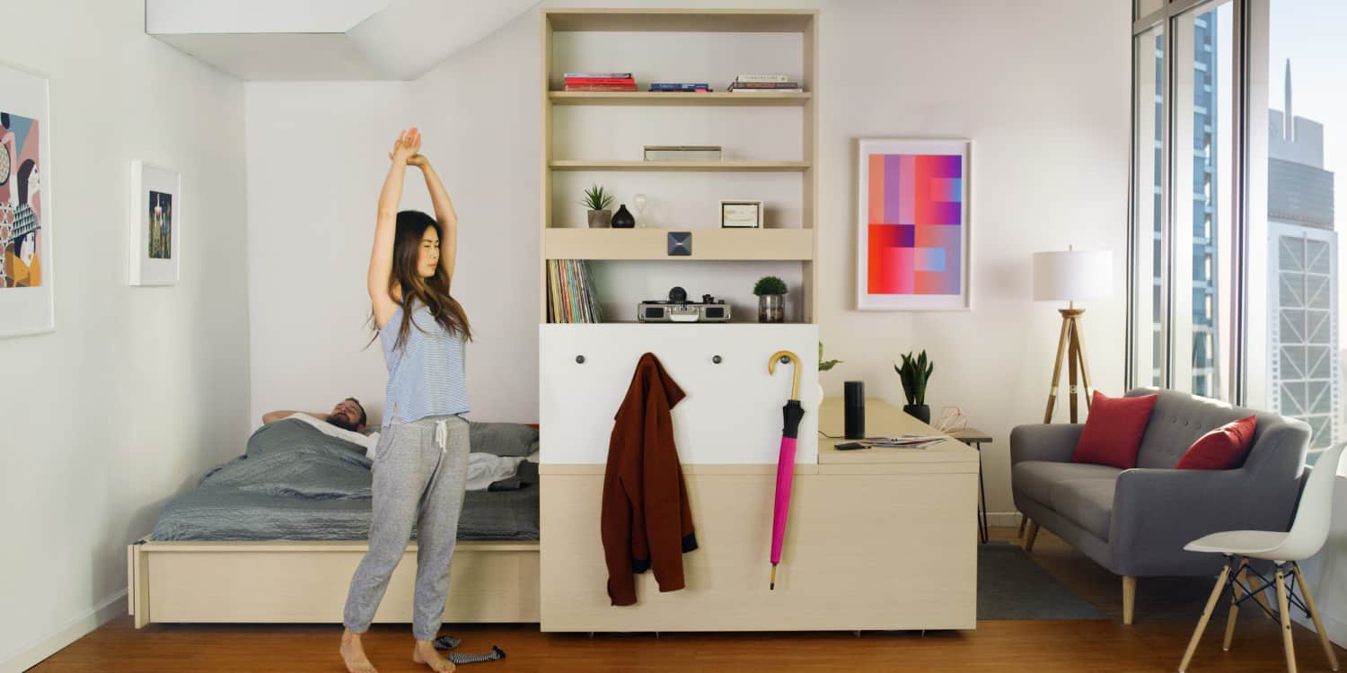 Yves Béhar & MIT Designed a Shapeshifting Apartment in a Box