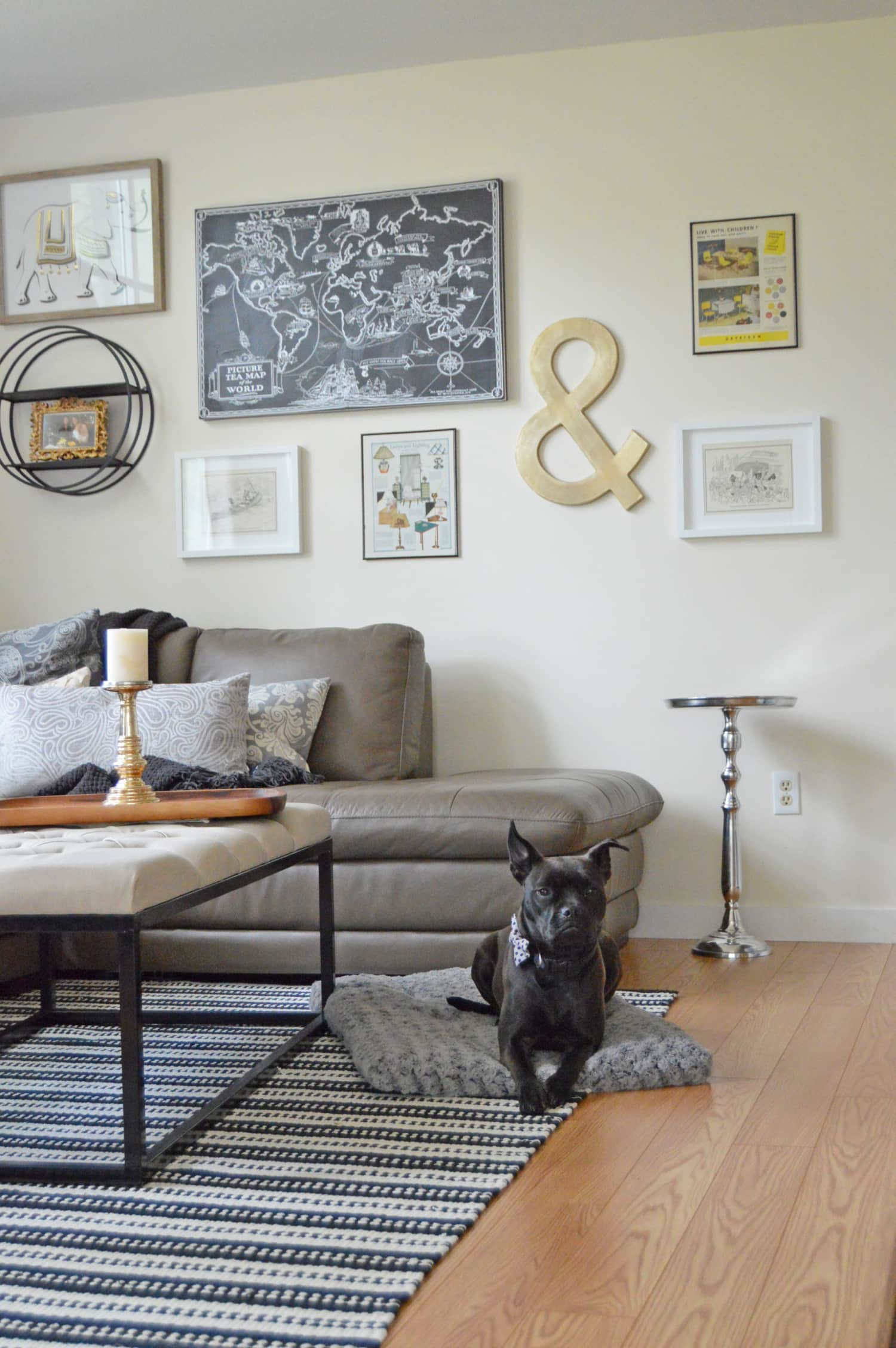 A Living Room Area Designed For Conversation