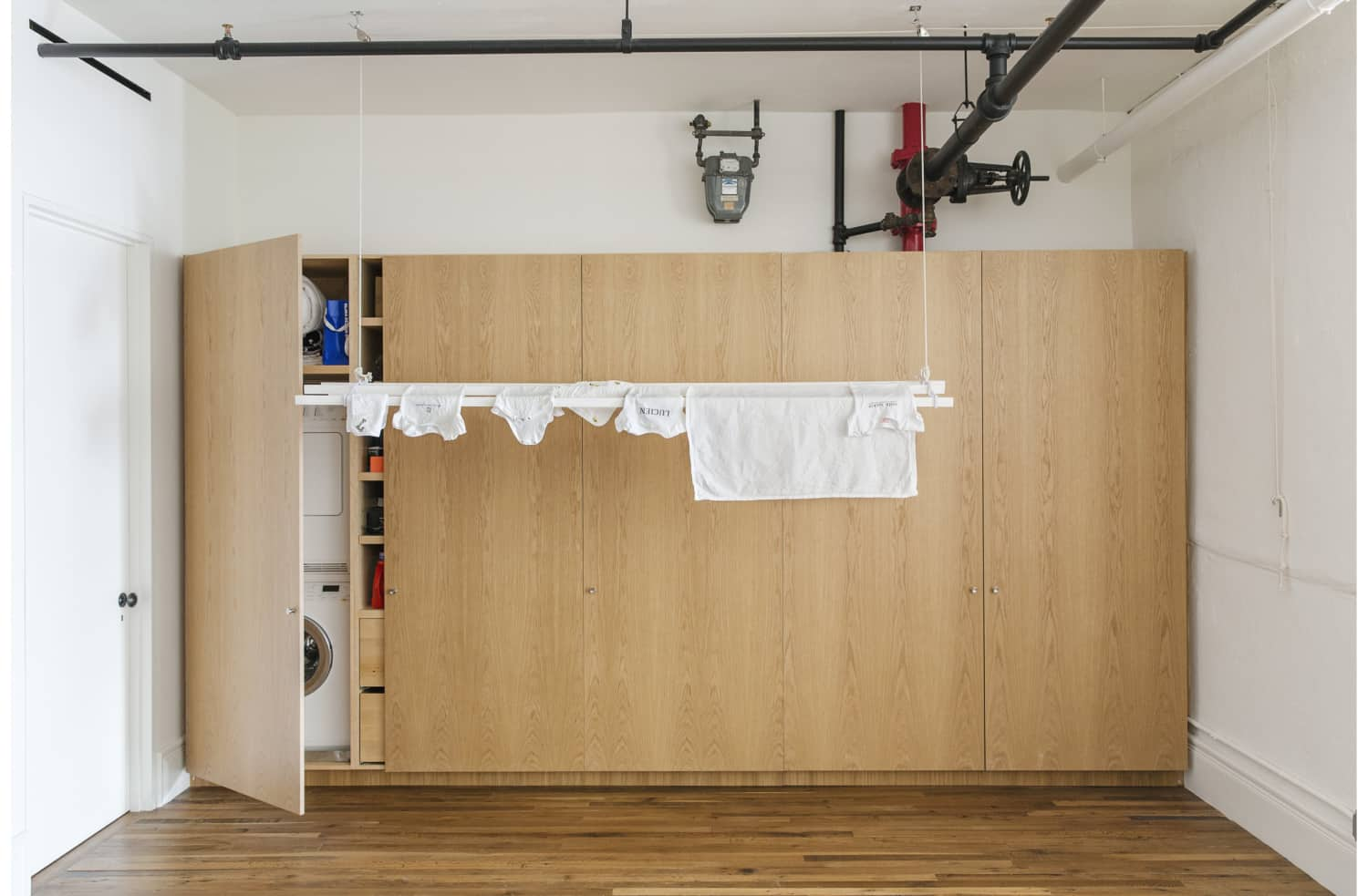 How to Fit a Washer and Dryer into the Smallest of Spaces