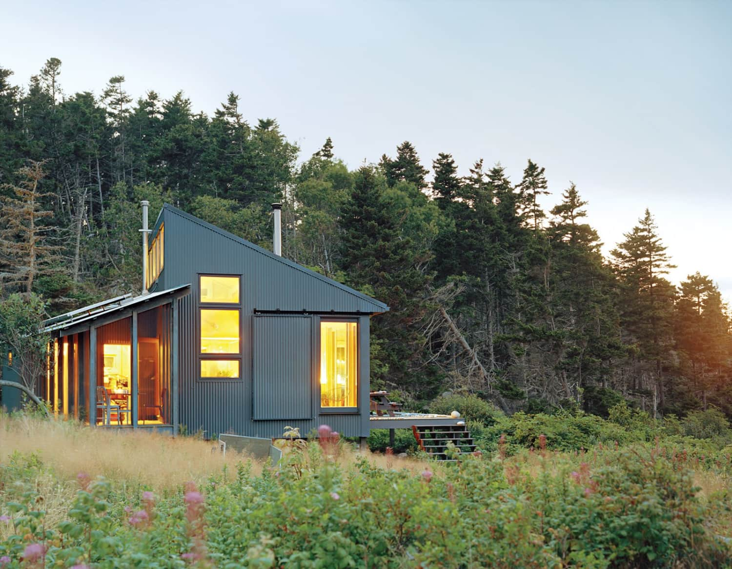 Here's How This Tiny Cabin Functions Completely Off the Grid