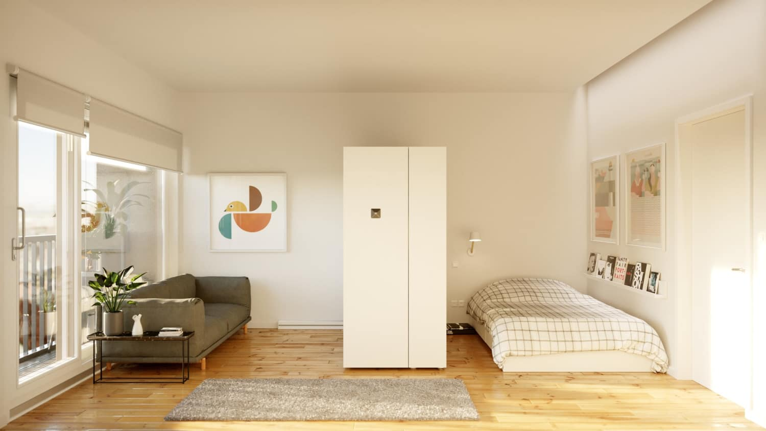 This Smart Furniture Turns Any Room Into A Walk-In Closet